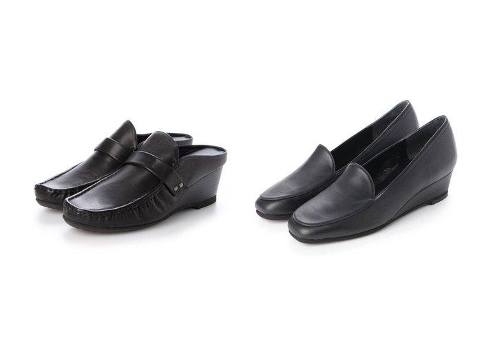 【MODE ET JACOMO/モード エ ジャコモ】の<D'ICI>【クッション入り】ウェッジソールローファー&<D'ICI>ローファーデザインウェッジソールミュール 【シューズ・靴】おすすめ!人気、トレンド・レディースファッションの通販 おすすめ人気トレンドファッション通販アイテム 人気、トレンドファッション・服の通販 founy(ファニー)  ファッション Fashion レディースファッション WOMEN 送料無料 Free Shipping クッション シューズ シンプル 定番 Standard 日本製 Made in Japan サンダル ソックス マニッシュ 人気 水玉  ID:crp329100000061421