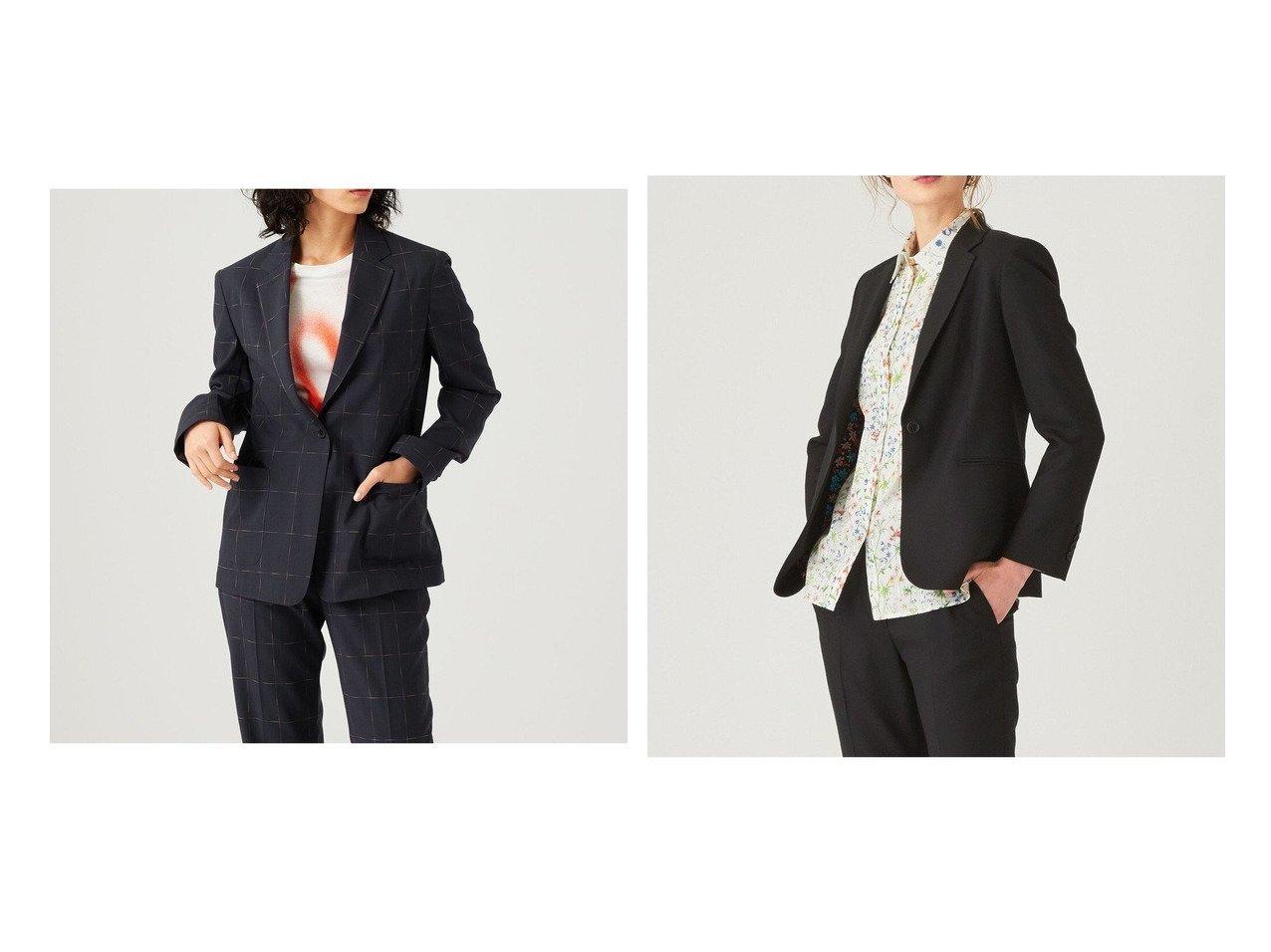 【Paul Smith/ポール スミス】の【セットアップ対応】ソリッドトラベルスーツ ジャケット&【セットアップ対応】カスリライトウェイト スーツ ジャケット 【アウター】おすすめ!人気、トレンド・レディースファッションの通販 おすすめで人気の流行・トレンド、ファッションの通販商品 インテリア・家具・メンズファッション・キッズファッション・レディースファッション・服の通販 founy(ファニー) https://founy.com/ ファッション Fashion レディースファッション WOMEN アウター Coat Outerwear ジャケット Jackets テーラードジャケット Tailored Jackets スーツ Suits スーツ ジャケット Jacket スーツセット Suit Sets 送料無料 Free Shipping おすすめ Recommend ジャケット ストレッチ スーツ セットアップ パッチ ポケット 軽量 人気 パターン フィット プリント ベーシック リラックス |ID:crp329100000061537