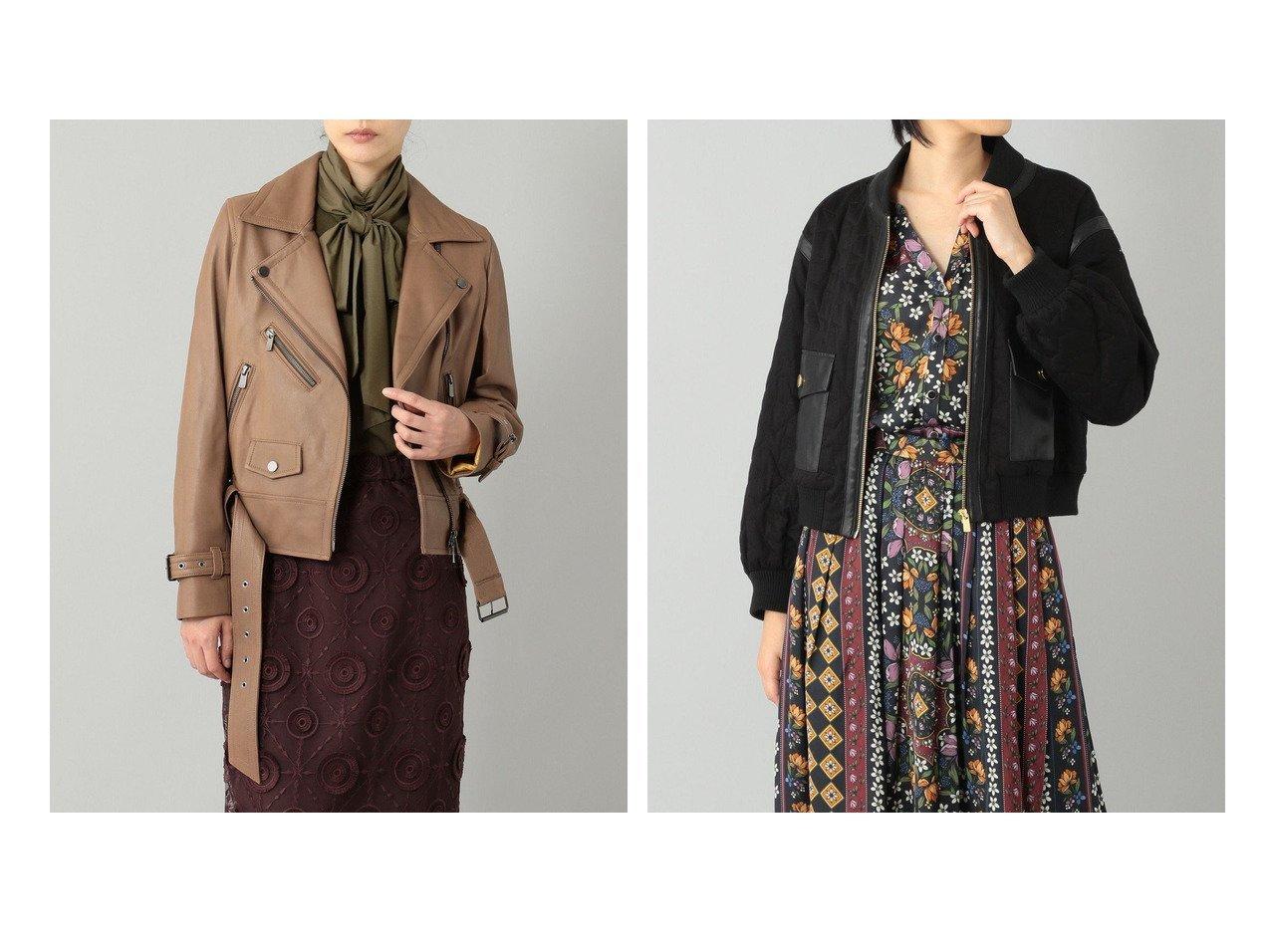 【GRACE CONTINENTAL/グレース コンチネンタル】のキルティグショートブルゾン&ベルト付ライダースジャケット 【アウター】おすすめ!人気、トレンド・レディースファッションの通販 おすすめで人気の流行・トレンド、ファッションの通販商品 インテリア・家具・メンズファッション・キッズファッション・レディースファッション・服の通販 founy(ファニー) https://founy.com/ ファッション Fashion レディースファッション WOMEN アウター Coat Outerwear ジャケット Jackets ライダース Riders Jacket ベルト Belts ブルゾン Blouson/Jackets 送料無料 Free Shipping カットソー ジャケット スペシャル トレンド ライダースジャケット ワイド キルト ショート ジャージ スリーブ 定番 Standard バランス フェミニン ブルゾン ポケット メタル |ID:crp329100000061555