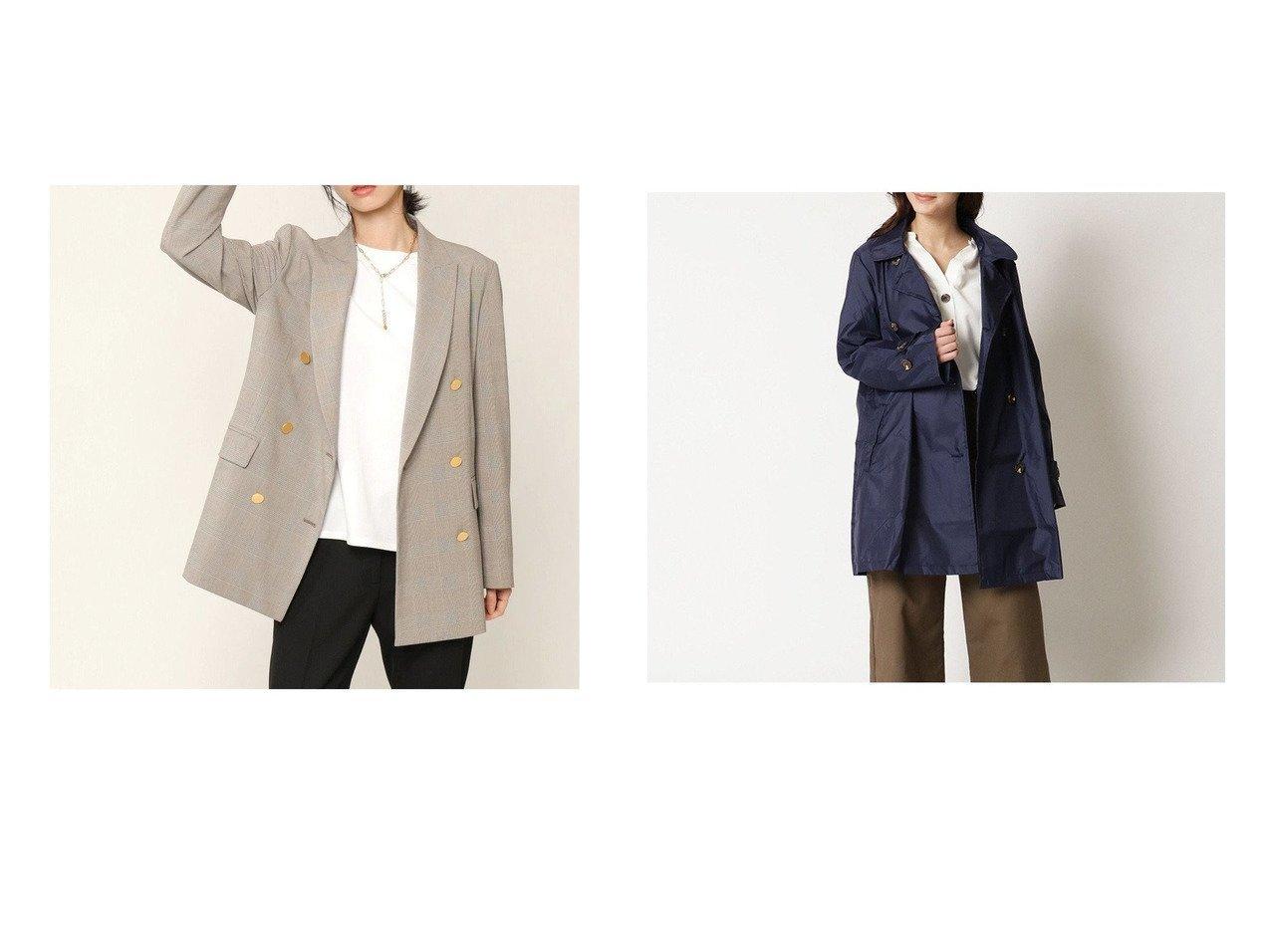 【Y'SACCS/イザック】のレインコート スタンダードタイプ&【KASHIYAMA EASY/カシヤマ イージー】の【受注生産】2Wayパワーストレッチ グレンチェック ダブルジャケット 【アウター】おすすめ!人気、トレンド・レディースファッションの通販 おすすめで人気の流行・トレンド、ファッションの通販商品 インテリア・家具・メンズファッション・キッズファッション・レディースファッション・服の通販 founy(ファニー) https://founy.com/ ファッション Fashion レディースファッション WOMEN アウター Coat Outerwear コート Coats ポンチョ Ponchos ジャケット Jackets テーラードジャケット Tailored Jackets 送料無料 Free Shipping コンパクト スタンダード ポンチョ ポーチ 無地 羽織 シンプル ジャケット ジャージー ストレッチ スーツ セットアップ ダブル チェック デニム トレンド ドレス フォルム ボトム おすすめ Recommend |ID:crp329100000061566