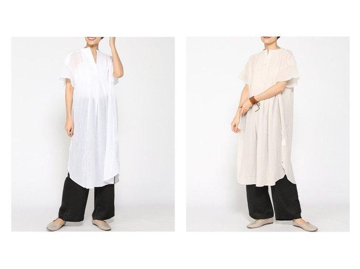 【GLOBAL WORK/グローバルワーク】のピンタックカフタンOP 【プチプライス・低価格】おすすめ!人気、トレンド・レディースファッションの通販 おすすめ人気トレンドファッション通販アイテム 人気、トレンドファッション・服の通販 founy(ファニー) ファッション Fashion レディースファッション WOMEN ワンピース Dress おすすめ Recommend ワーク 半袖 |ID:crp329100000061629