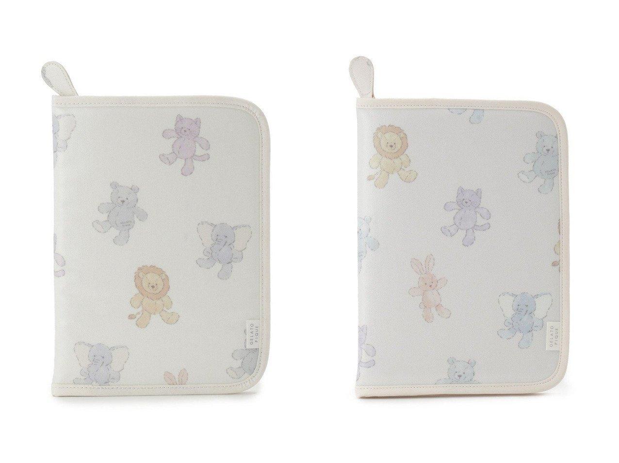 【gelato pique / BABY/ジェラートピケ】の【ONLINE限定】ぬいぐるみモチーフ母子手帳ケース おすすめ!人気、トレンド・レディースファッションの通販 おすすめで人気の流行・トレンド、ファッションの通販商品 インテリア・家具・メンズファッション・キッズファッション・レディースファッション・服の通販 founy(ファニー) https://founy.com/ ファッション Fashion ベビー BABY コーティング 抗菌 軽量 手帳 ネコ 人気 ベビー ポケット ポーチ モチーフ |ID:crp329100000061681