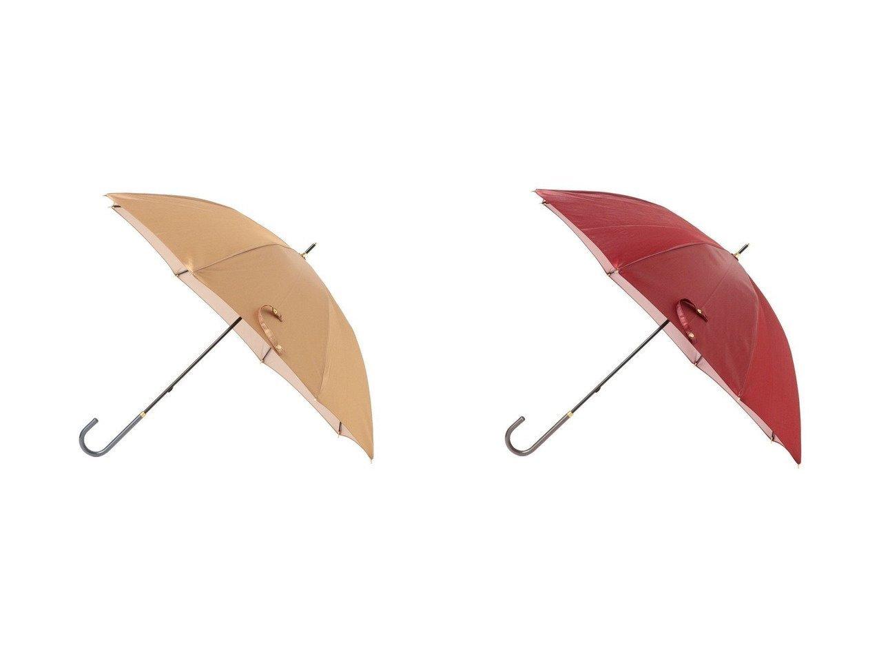 【Demi-Luxe BEAMS/デミルクス ビームス】のDemi- ソリッド晴雨兼用長傘 おすすめ!人気、トレンド・レディースファッションの通販 おすすめで人気の流行・トレンド、ファッションの通販商品 インテリア・家具・メンズファッション・キッズファッション・レディースファッション・服の通販 founy(ファニー) https://founy.com/ ファッション Fashion レディースファッション WOMEN 傘 / レイングッズ Umbrellas/Rainwear フォルム 傘 日傘 |ID:crp329100000061695