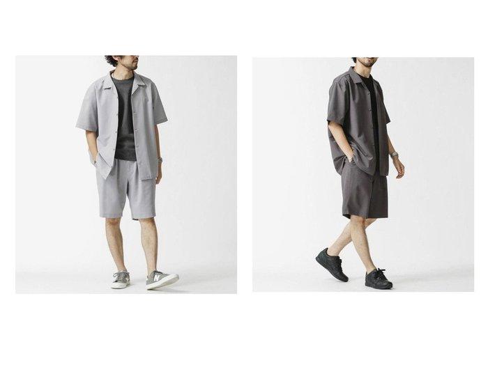 【nano universe / MEN/ナノ ユニバース】のシアサッカー シャツセットアップ 【MEN】おすすめ!人気トレンド・男性、メンズ ファッションの通販 おすすめ人気トレンドファッション通販アイテム インテリア・キッズ・メンズ・レディースファッション・服の通販 founy(ファニー) https://founy.com/ ファッション Fashion メンズファッション MEN セットアップ Setup/Men ショーツ セットアップ トレンド ハーフ リラックス 夏 Summer |ID:crp329100000061707