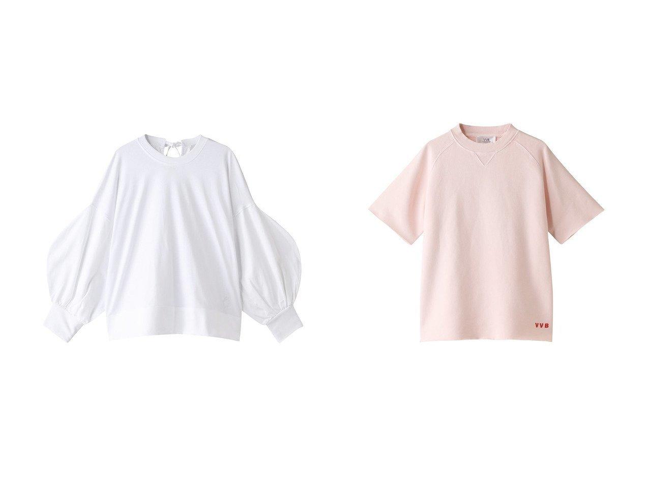 【VVB/ヴィヴィビー】のボリュームスリーブシャツ&ショートスリーブスウェットシャツ 【トップス・カットソー】おすすめ!人気、トレンド・レディースファッションの通販 おすすめで人気の流行・トレンド、ファッションの通販商品 インテリア・家具・メンズファッション・キッズファッション・レディースファッション・服の通販 founy(ファニー) https://founy.com/ ファッション Fashion レディースファッション WOMEN トップス・カットソー Tops/Tshirt シャツ/ブラウス Shirts/Blouses ロング / Tシャツ T-Shirts カットソー Cut and Sewn ボリュームスリーブ / フリル袖 Volume Sleeve パーカ Sweats スウェット Sweat 2020年 2020 2020-2021秋冬・A/W AW・Autumn/Winter・FW・Fall-Winter/2020-2021 2021年 2021 2021-2022秋冬・A/W AW・Autumn/Winter・FW・Fall-Winter・2021-2022 A/W・秋冬 AW・Autumn/Winter・FW・Fall-Winter シンプル スリーブ リボン ロング サマー ショート  ID:crp329100000061772