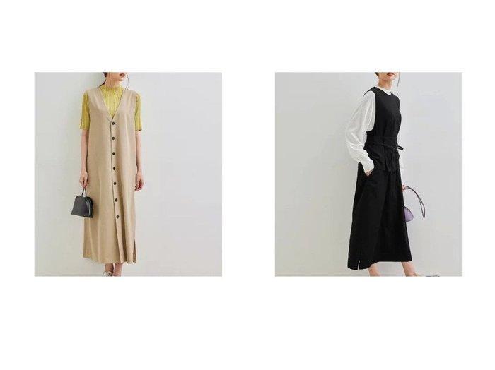 【ROPE' PICNIC/ロペピクニック】の【2WAY】ジャンパースカート 【プチプライス・低価格】おすすめ!人気、トレンド・レディースファッションの通販 おすすめ人気トレンドファッション通販アイテム 人気、トレンドファッション・服の通販 founy(ファニー) ファッション Fashion レディースファッション WOMEN スカート Skirt おすすめ Recommend フリル 春 Spring 秋 Autumn/Fall |ID:crp329100000061861