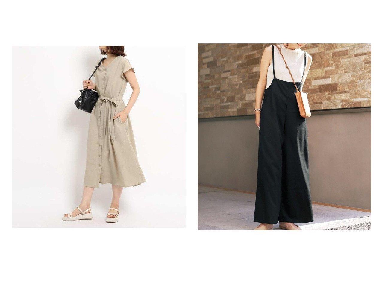 【GeeRa/ジーラ】のサロペットワイドパンツ&【grove/グローブ】の【S-LL】フレアスリーブワンピース 【プチプライス・低価格】おすすめ!人気、トレンド・レディースファッションの通販 おすすめで人気の流行・トレンド、ファッションの通販商品 インテリア・家具・メンズファッション・キッズファッション・レディースファッション・服の通販 founy(ファニー) https://founy.com/ ファッション Fashion レディースファッション WOMEN ワンピース Dress スリーブ フェミニン フレア 切替 サロペット ジーンズ ストレッチ チェック デニム ラップ  ID:crp329100000061864