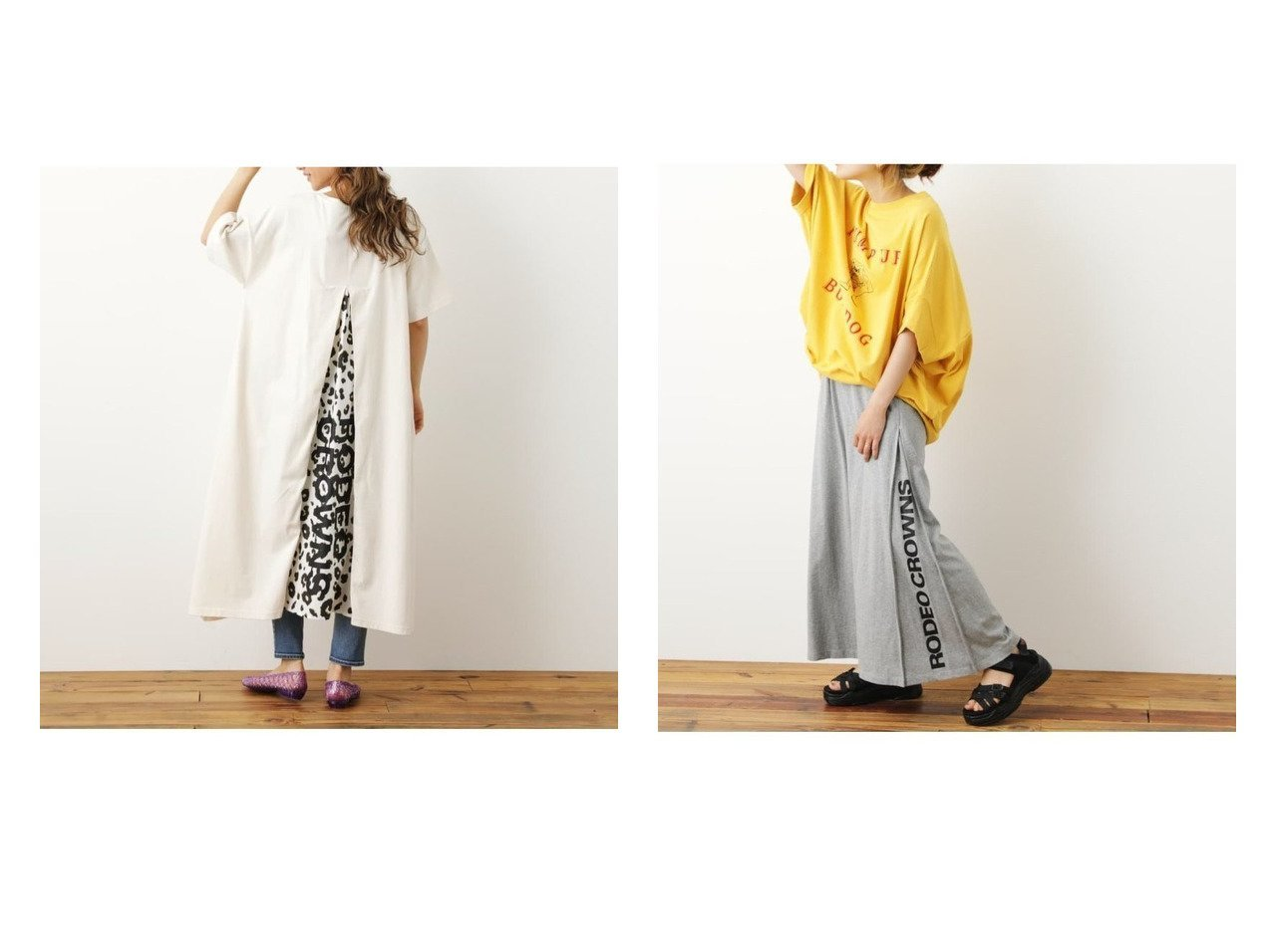 【RODEO CROWNS WIDE BOWL/ロデオクラウンズワイドボウル】のサイドロゴカットマキシスカートWL&レオパード切リ替エワンピース おすすめ!人気、トレンド・レディースファッションの通販 おすすめで人気の流行・トレンド、ファッションの通販商品 インテリア・家具・メンズファッション・キッズファッション・レディースファッション・服の通販 founy(ファニー) https://founy.com/ ファッション Fashion レディースファッション WOMEN ワンピース Dress マキシワンピース Maxi Dress スカート Skirt ロングスカート Long Skirt シンプル スリット プリント マキシ レオパード ロング  ID:crp329100000061939