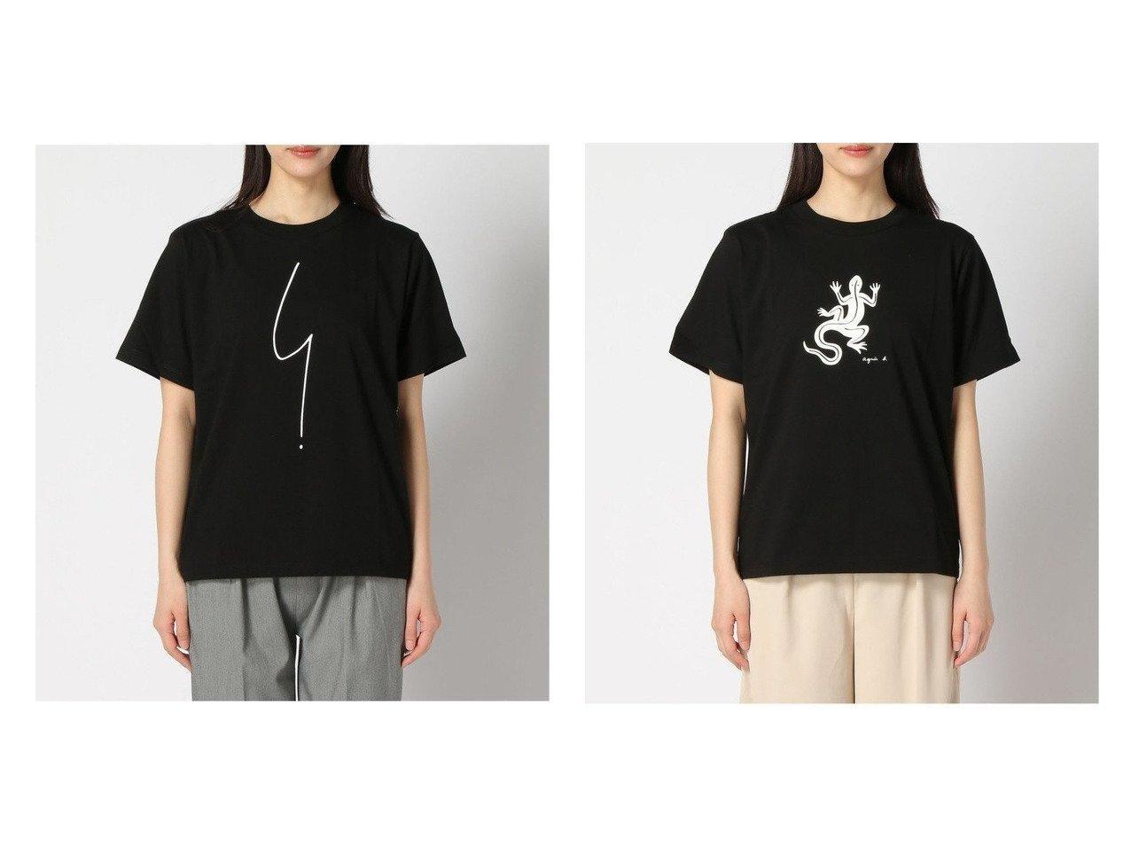 【agnes b. FEMME/アニエスベー ファム】のagnes b.SE30 Tシャツ&agnes b.SF64 Tシャツ おすすめ!人気、トレンド・レディースファッションの通販 おすすめで人気の流行・トレンド、ファッションの通販商品 インテリア・家具・メンズファッション・キッズファッション・レディースファッション・服の通販 founy(ファニー) https://founy.com/ ファッション Fashion レディースファッション WOMEN トップス・カットソー Tops/Tshirt シャツ/ブラウス Shirts/Blouses ロング / Tシャツ T-Shirts カットソー Cut and Sewn カットソー フォルム フロント ボトム プリント モチーフ 定番 Standard |ID:crp329100000061953