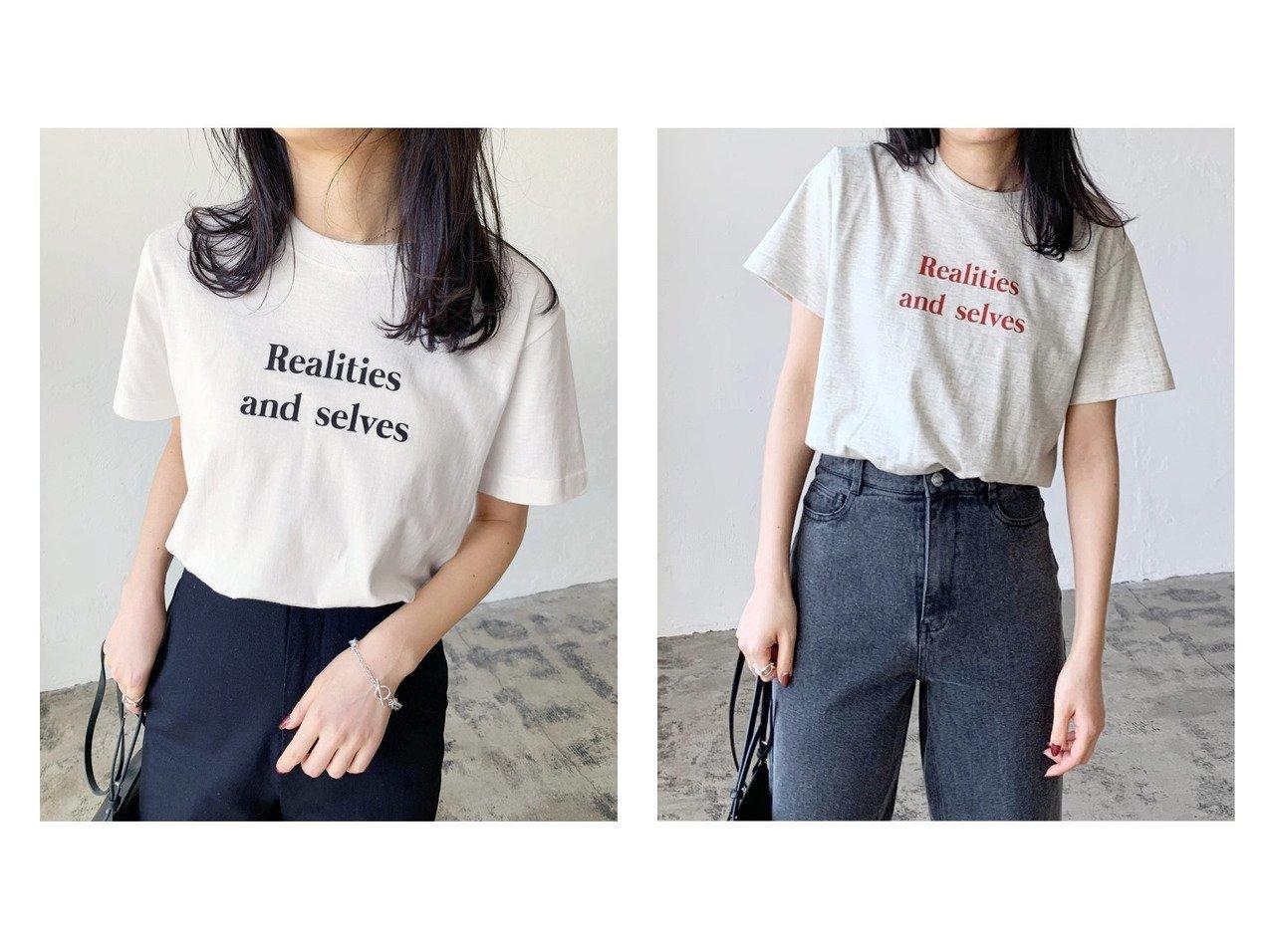 【Lian/リアン】のカラーロゴプリントコンパクトTシャツ おすすめ!人気、トレンド・レディースファッションの通販 おすすめで人気の流行・トレンド、ファッションの通販商品 インテリア・家具・メンズファッション・キッズファッション・レディースファッション・服の通販 founy(ファニー) https://founy.com/ ファッション Fashion レディースファッション WOMEN トップス・カットソー Tops/Tshirt シャツ/ブラウス Shirts/Blouses ロング / Tシャツ T-Shirts カットソー Cut and Sewn インナー カットソー グラフィック コンパクト タンブラー デニム フィット フロント プリント ボトム ポケット 羽織 おすすめ Recommend |ID:crp329100000061962