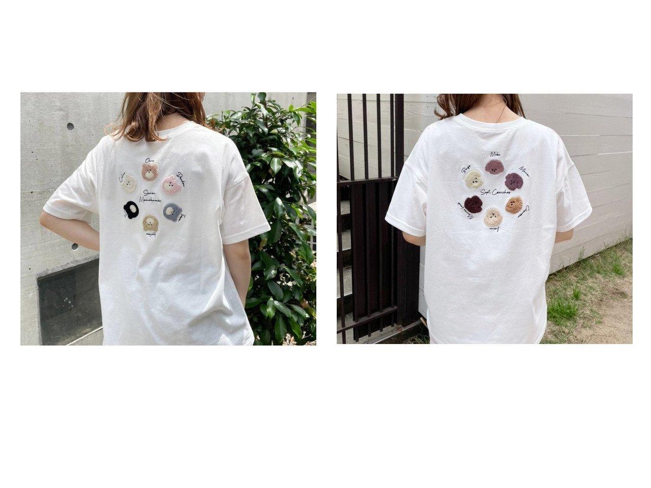 【NICE CLAUP/ナイスクラップ】のアソ-トビッグTシャツ おすすめ!人気、トレンド・レディースファッションの通販 おすすめで人気の流行・トレンド、ファッションの通販商品 インテリア・家具・メンズファッション・キッズファッション・レディースファッション・服の通販 founy(ファニー) https://founy.com/ ファッション Fashion レディースファッション WOMEN トップス・カットソー Tops/Tshirt シャツ/ブラウス Shirts/Blouses ロング / Tシャツ T-Shirts カットソー Cut and Sewn カットソー ガーリー キャラクター サークル チュニック 人気 フレア プリーツ ボトム マーメイド ミニスカート 2021年 2021 2021春夏・S/S SS/Spring/Summer/2021 おすすめ Recommend 夏 Summer |ID:crp329100000061966