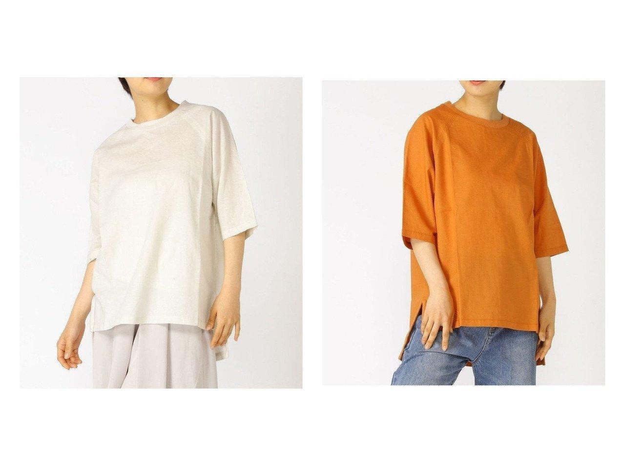 【RNA-N/アールエヌエーエヌ】のB2643 リブカラーTシャツブラウス おすすめ!人気、トレンド・レディースファッションの通販 おすすめで人気の流行・トレンド、ファッションの通販商品 インテリア・家具・メンズファッション・キッズファッション・レディースファッション・服の通販 founy(ファニー) https://founy.com/ ファッション Fashion レディースファッション WOMEN トップス・カットソー Tops/Tshirt シャツ/ブラウス Shirts/Blouses ロング / Tシャツ T-Shirts S/S・春夏 SS・Spring/Summer スリット ロング 半袖 夏 Summer 春 Spring |ID:crp329100000061974