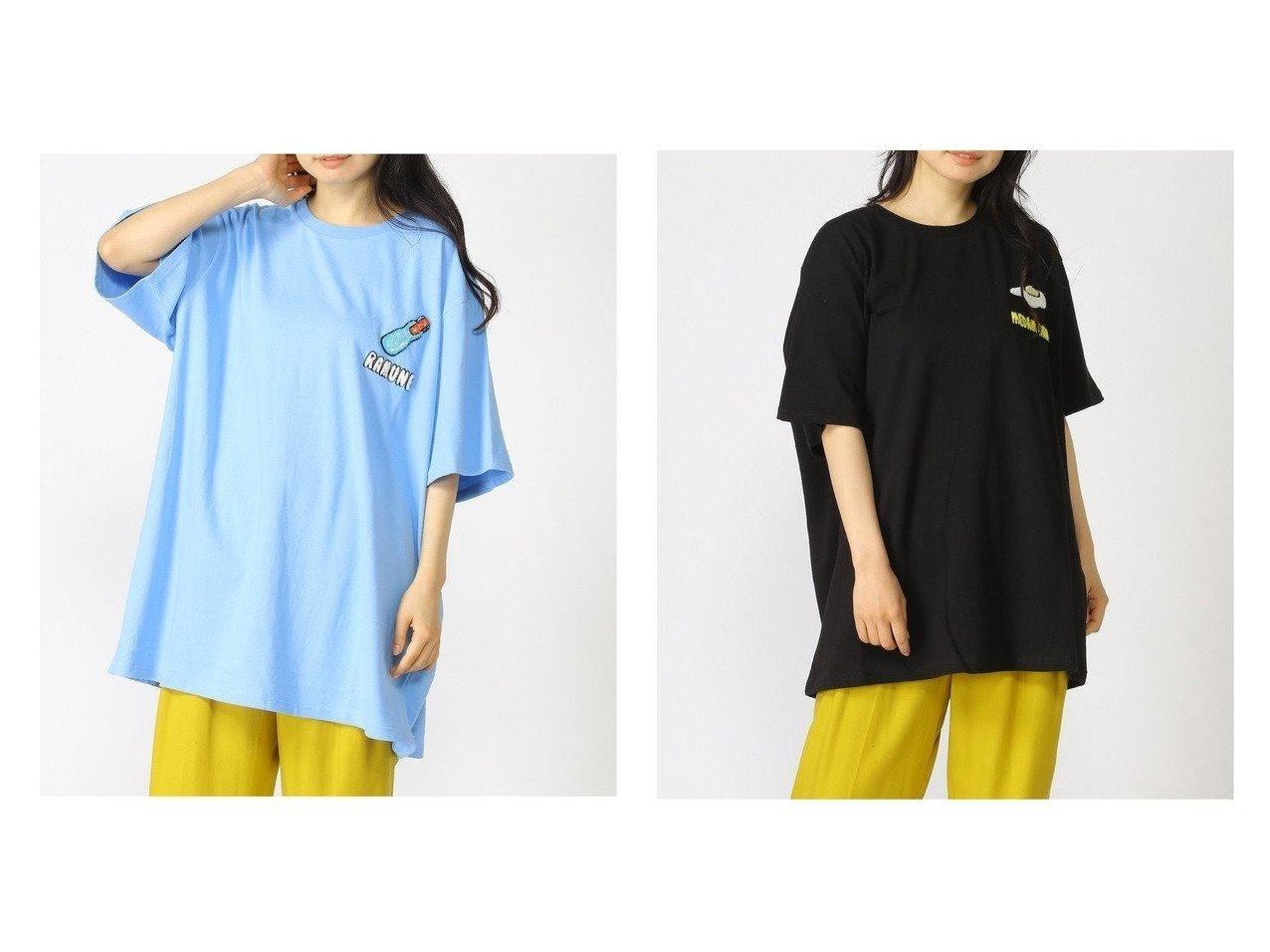 【PUNYUS/プニュズ】のフードサガラ刺繍Tシャツ おすすめ!人気、トレンド・レディースファッションの通販 おすすめで人気の流行・トレンド、ファッションの通販商品 インテリア・家具・メンズファッション・キッズファッション・レディースファッション・服の通販 founy(ファニー) https://founy.com/ ファッション Fashion レディースファッション WOMEN トップス・カットソー Tops/Tshirt シャツ/ブラウス Shirts/Blouses ロング / Tシャツ T-Shirts カットソー Cut and Sewn イエロー カットソー ワンポイント |ID:crp329100000061983