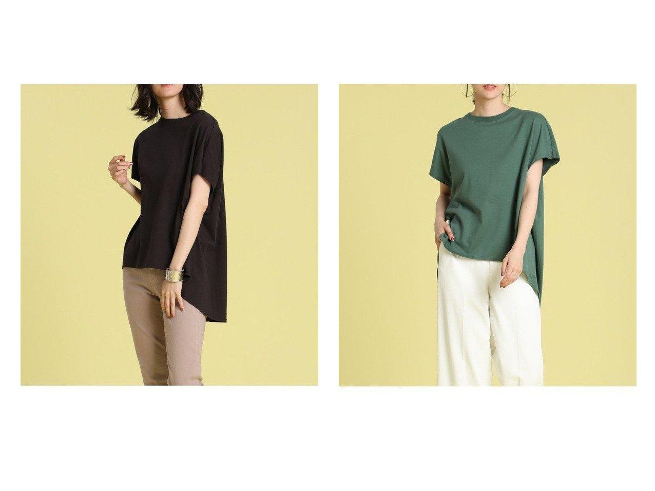 【INED/イネド】のラウンドヘムカットソー おすすめ!人気、トレンド・レディースファッションの通販 おすすめで人気の流行・トレンド、ファッションの通販商品 インテリア・家具・メンズファッション・キッズファッション・レディースファッション・服の通販 founy(ファニー) https://founy.com/ ファッション Fashion レディースファッション WOMEN トップス・カットソー Tops/Tshirt シャツ/ブラウス Shirts/Blouses ロング / Tシャツ T-Shirts カットソー Cut and Sewn おすすめ Recommend カットソー ボトム ワイド 定番 Standard |ID:crp329100000061988