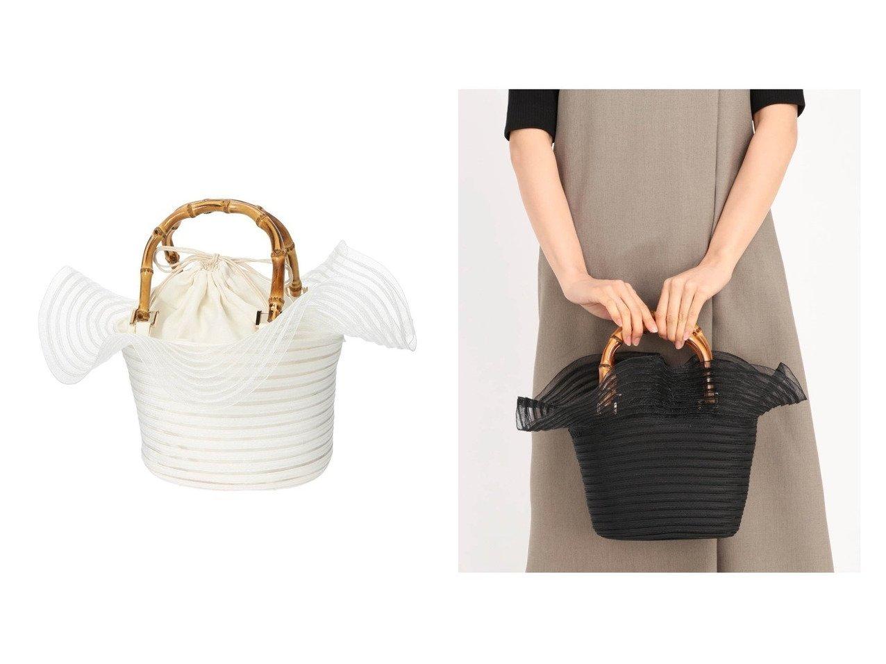【STRAWBERRY FIELDS/ストロベリーフィールズ】のSTRAWBERRY-フリル バンブーバッグ おすすめ!人気、トレンド・レディースファッションの通販 おすすめで人気の流行・トレンド、ファッションの通販商品 インテリア・家具・メンズファッション・キッズファッション・レディースファッション・服の通販 founy(ファニー) https://founy.com/ ファッション Fashion レディースファッション WOMEN バッグ Bag ハンドバッグ バランス バンブー フリル 夏 Summer 巾着 |ID:crp329100000061999