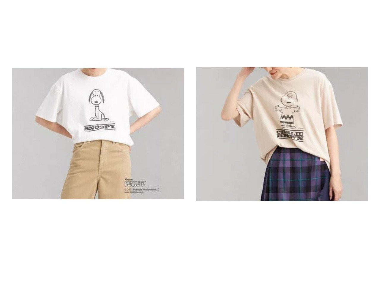 【green label relaxing / UNITED ARROWS/グリーンレーベル リラクシング / ユナイテッドアローズ】の【別注】ショートスリーブ Tシャツ 【トップス・カットソー】おすすめ!人気、トレンド・レディースファッションの通販 おすすめで人気の流行・トレンド、ファッションの通販商品 インテリア・家具・メンズファッション・キッズファッション・レディースファッション・服の通販 founy(ファニー) https://founy.com/ ファッション Fashion レディースファッション WOMEN トップス・カットソー Tops/Tshirt シャツ/ブラウス Shirts/Blouses ロング / Tシャツ T-Shirts カットソー Cut and Sewn おすすめ Recommend インナー カットソー ショート スリーブ トレンド プリント ベーシック ロング 別注 半袖 羽織 |ID:crp329100000062100