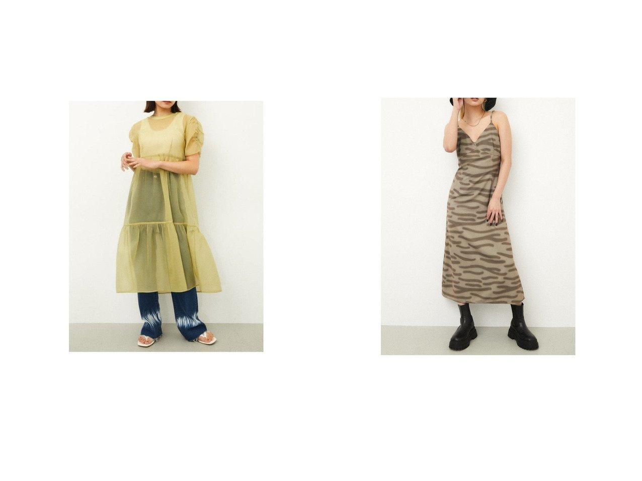 【LAGUA GEM/ラグア ジェム】のSEE THROUGH LONG TOPS&TOYGER CAMI OP おすすめ!人気、トレンド・レディースファッションの通販  おすすめで人気の流行・トレンド、ファッションの通販商品 インテリア・家具・メンズファッション・キッズファッション・レディースファッション・服の通販 founy(ファニー) https://founy.com/ ファッション Fashion レディースファッション WOMEN トップス・カットソー Tops/Tshirt ワンピース Dress 2021年 2021 2021-2022秋冬・A/W AW・Autumn/Winter・FW・Fall-Winter・2021-2022 A/W・秋冬 AW・Autumn/Winter・FW・Fall-Winter おすすめ Recommend インナー キャミソール タンク デニム ボトム キャミワンピース 長袖  ID:crp329100000062182