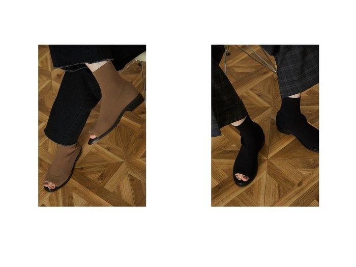【RIM.ARK/リムアーク】のSocks bootie sandal おすすめ!人気、トレンド・レディースファッションの通販  おすすめ人気トレンドファッション通販アイテム インテリア・キッズ・メンズ・レディースファッション・服の通販 founy(ファニー) https://founy.com/ ファッション Fashion レディースファッション WOMEN ソックス Socks 2021年 2021 2021-2022秋冬・A/W AW・Autumn/Winter・FW・Fall-Winter・2021-2022 A/W・秋冬 AW・Autumn/Winter・FW・Fall-Winter サンダル バランス 夏 Summer  ID:crp329100000062197