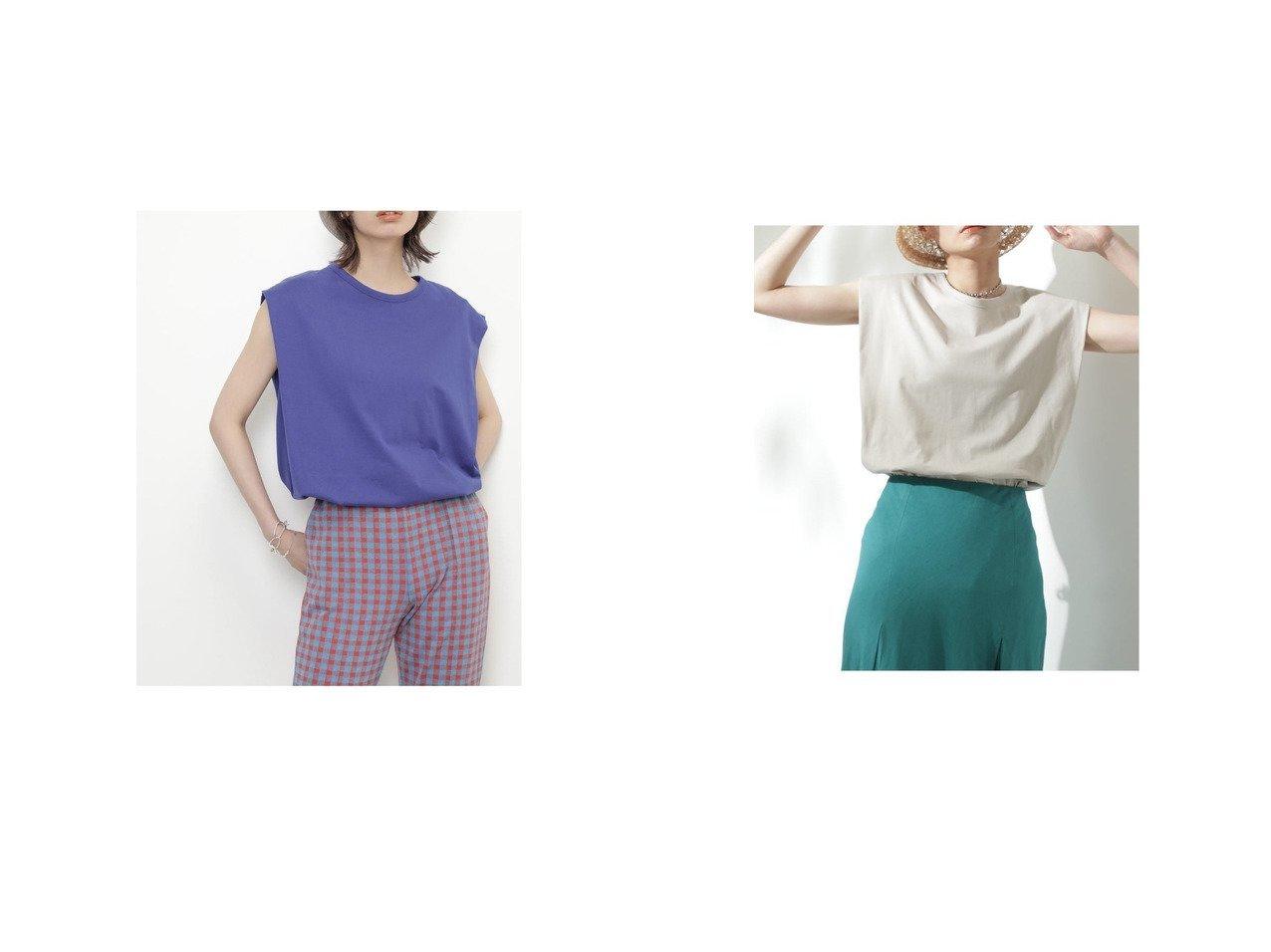 【ROSE BUD/ローズバッド】の肩タックノースリーブカットソー おすすめ!人気、トレンド・レディースファッションの通販  おすすめで人気の流行・トレンド、ファッションの通販商品 インテリア・家具・メンズファッション・キッズファッション・レディースファッション・服の通販 founy(ファニー) https://founy.com/ ファッション Fashion レディースファッション WOMEN トップス・カットソー Tops/Tshirt キャミソール / ノースリーブ No Sleeves カットソー Cut and Sewn 2021年 2021 2021-2022秋冬・A/W AW・Autumn/Winter・FW・Fall-Winter・2021-2022 A/W・秋冬 AW・Autumn/Winter・FW・Fall-Winter おすすめ Recommend カットソー シンプル スリット ベーシック ボックス |ID:crp329100000062208