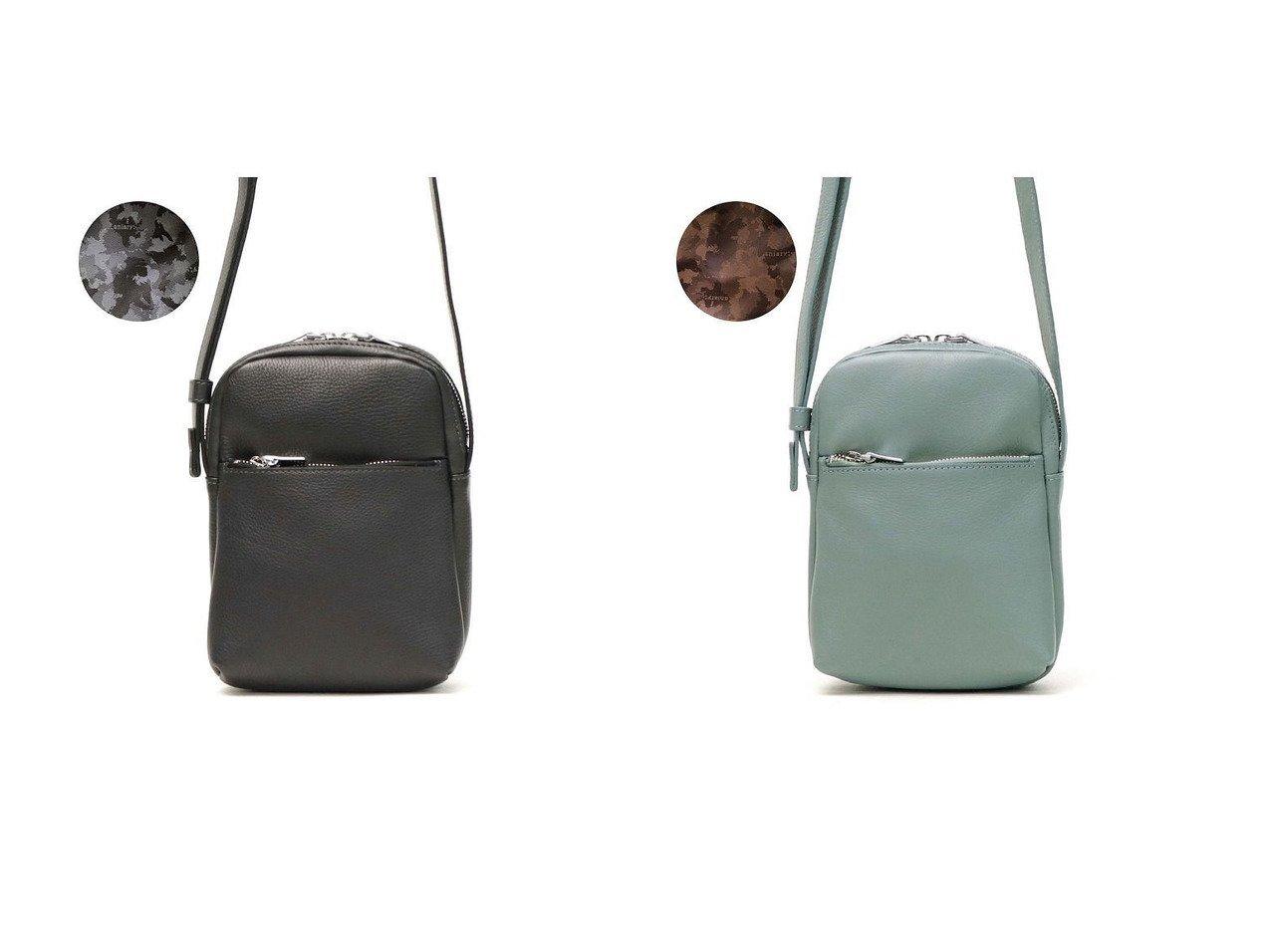 【aniary/アニアリ】のアニアリ ショルダーバッグ aniary シュリンクレザー Shrink Leather ミニショルダー 斜めがけバッグ ポシェット 本革 07-03005 おすすめ!人気、トレンド・レディースファッションの通販  おすすめで人気の流行・トレンド、ファッションの通販商品 インテリア・家具・メンズファッション・キッズファッション・レディースファッション・服の通販 founy(ファニー) https://founy.com/ ファッション Fashion レディースファッション WOMEN エレガント キーホルダー コンパクト ショルダー ジャケット 財布 ポケット ポシェット ワンポイント 再入荷 Restock/Back in Stock/Re Arrival おすすめ Recommend |ID:crp329100000062209