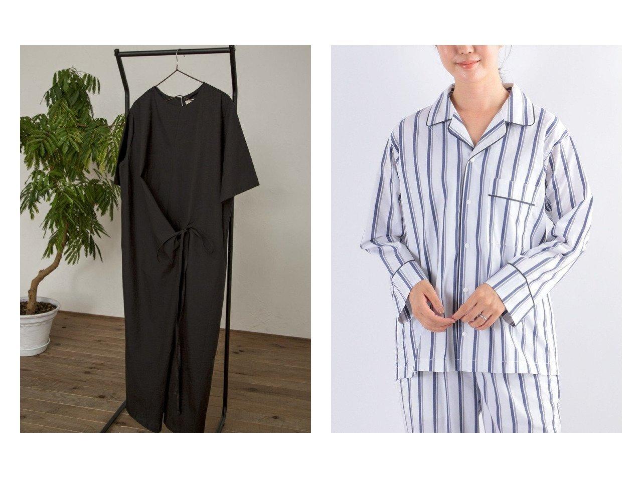 【Kari & lili/カウリアンドリィリィ】のウエストリボンワンピース&【SHIPS any/シップス エニィ】のSHIPS any cozy オープンカラーパジャマシャツ おすすめ!人気、トレンド・レディースファッションの通販  おすすめで人気の流行・トレンド、ファッションの通販商品 インテリア・家具・メンズファッション・キッズファッション・レディースファッション・服の通販 founy(ファニー) https://founy.com/ ファッション Fashion レディースファッション WOMEN ワンピース Dress トップス・カットソー Tops/Tshirt シャツ/ブラウス Shirts/Blouses おすすめ Recommend デニム リボン 半袖 インナー 抗菌 シンプル ストライプ ドット なめらか パイピング パジャマ パターン フロント ブロード プリント メンズ リラックス ワーク NEW・新作・新着・新入荷 New Arrivals お家時間・ステイホーム Home Time/Stay Home |ID:crp329100000062254