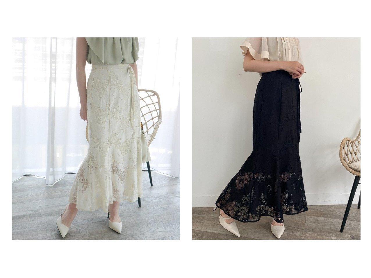 【LIP SERVICE/リップサービス】のシアーレースマーメイドSK おすすめ!人気、トレンド・レディースファッションの通販  おすすめで人気の流行・トレンド、ファッションの通販商品 インテリア・家具・メンズファッション・キッズファッション・レディースファッション・服の通販 founy(ファニー) https://founy.com/ ファッション Fashion レディースファッション WOMEN スカート Skirt ロングスカート Long Skirt NEW・新作・新着・新入荷 New Arrivals フェミニン マーメイド レース ロング  ID:crp329100000062274