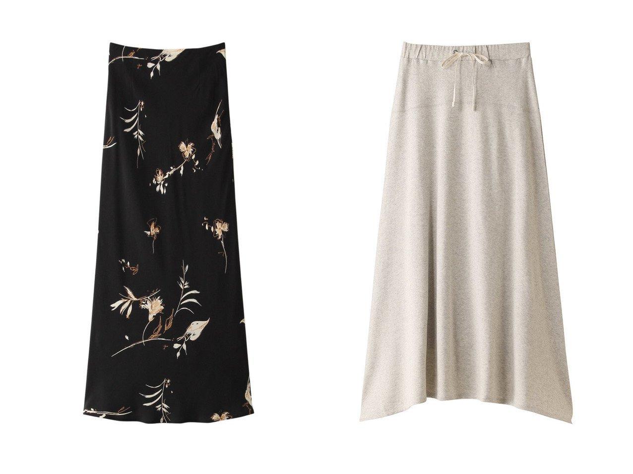 【heliopole/エリオポール】の【THREE DOTS】ドロストスカート&【SACRA/サクラ】のオータムフラワースカート 【スカート】おすすめ!人気、トレンド・レディースファッションの通販  おすすめで人気の流行・トレンド、ファッションの通販商品 インテリア・家具・メンズファッション・キッズファッション・レディースファッション・服の通販 founy(ファニー) https://founy.com/ ファッション Fashion レディースファッション WOMEN スカート Skirt ロングスカート Long Skirt 2020年 2020 2020-2021秋冬・A/W AW・Autumn/Winter・FW・Fall-Winter/2020-2021 2021年 2021 2021-2022秋冬・A/W AW・Autumn/Winter・FW・Fall-Winter・2021-2022 A/W・秋冬 AW・Autumn/Winter・FW・Fall-Winter バイアス フラワー プリント モチーフ ロング 秋 Autumn/Fall おすすめ Recommend イレギュラー シンプル セットアップ メランジ  ID:crp329100000062285
