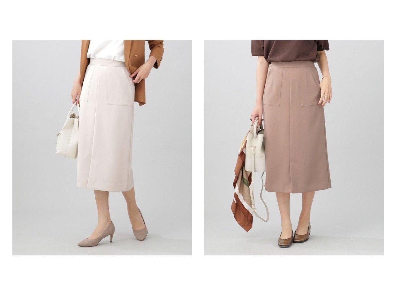【nano universe/ナノ ユニバース】のWEB限定/スリットタイトスカート 【スカート】おすすめ!人気、トレンド・レディースファッションの通販  おすすめで人気の流行・トレンド、ファッションの通販商品 インテリア・家具・メンズファッション・キッズファッション・レディースファッション・服の通販 founy(ファニー) https://founy.com/ ファッション Fashion レディースファッション WOMEN スカート Skirt スリット フロント おすすめ Recommend  ID:crp329100000062288
