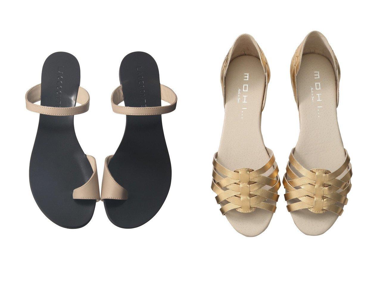 【heliopole/エリオポール】の【MOHI】メタリックメッシュサンダル&【LAOCOONTE】ストラップトングサンダル 【シューズ・靴】おすすめ!人気、トレンド・レディースファッションの通販  おすすめで人気の流行・トレンド、ファッションの通販商品 インテリア・家具・メンズファッション・キッズファッション・レディースファッション・服の通販 founy(ファニー) https://founy.com/ ファッション Fashion レディースファッション WOMEN サマー サンダル 定番 Standard シューズ ジュート スマート トレンド フェミニン フォルム フラット メタリック メッシュ |ID:crp329100000062295
