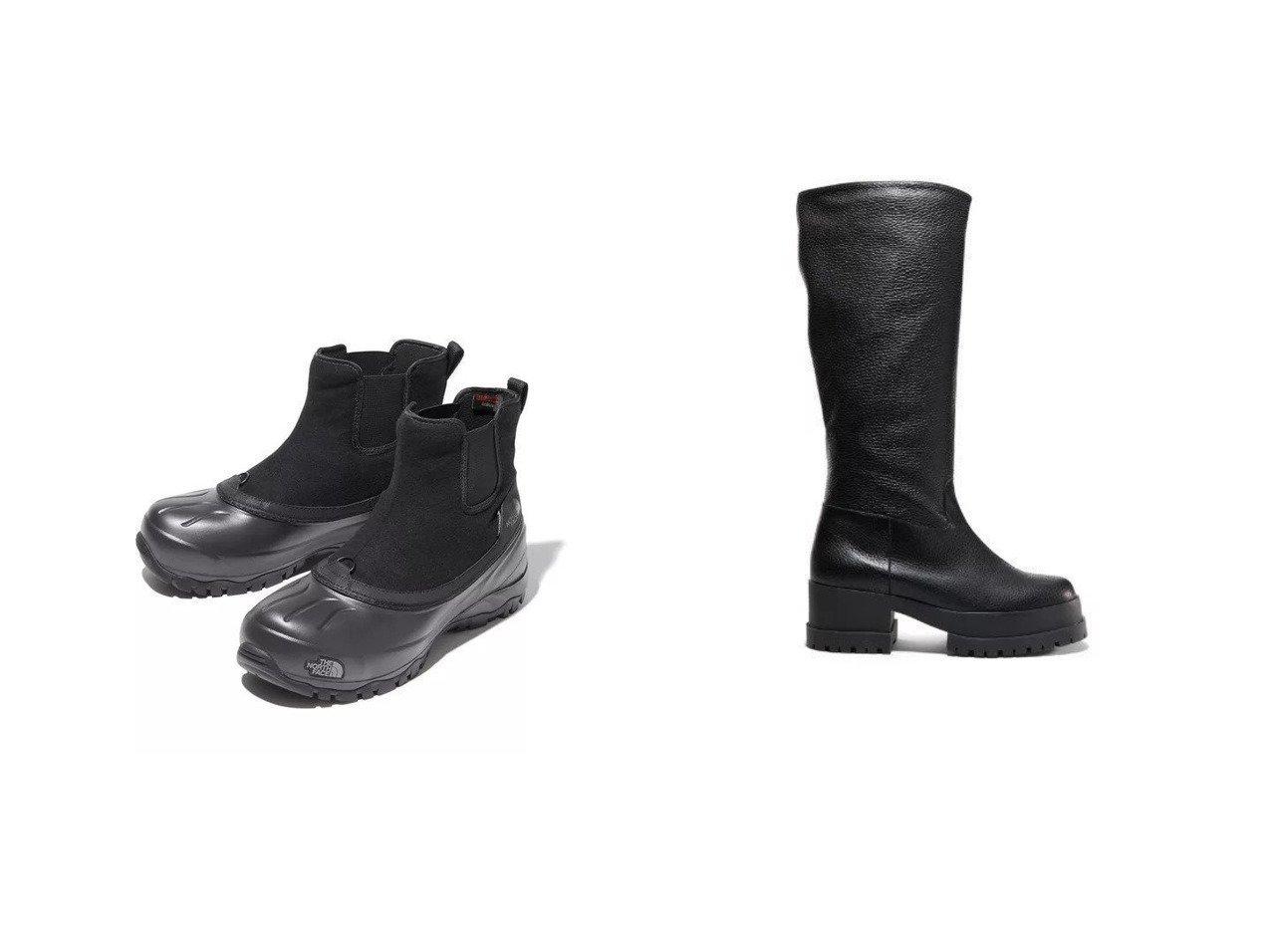 【CLERGERIE/クレジュリー】のWENDEL ゴム底ロングブーツ&【THE NORTH FACE/ザ ノース フェイス】のSnow Shot Pull-On 【シューズ・靴】おすすめ!人気、トレンド・レディースファッションの通販  おすすめで人気の流行・トレンド、ファッションの通販商品 インテリア・家具・メンズファッション・キッズファッション・レディースファッション・服の通販 founy(ファニー) https://founy.com/ ファッション Fashion レディースファッション WOMEN シューズ ショート ボトム モダン ロング |ID:crp329100000062305