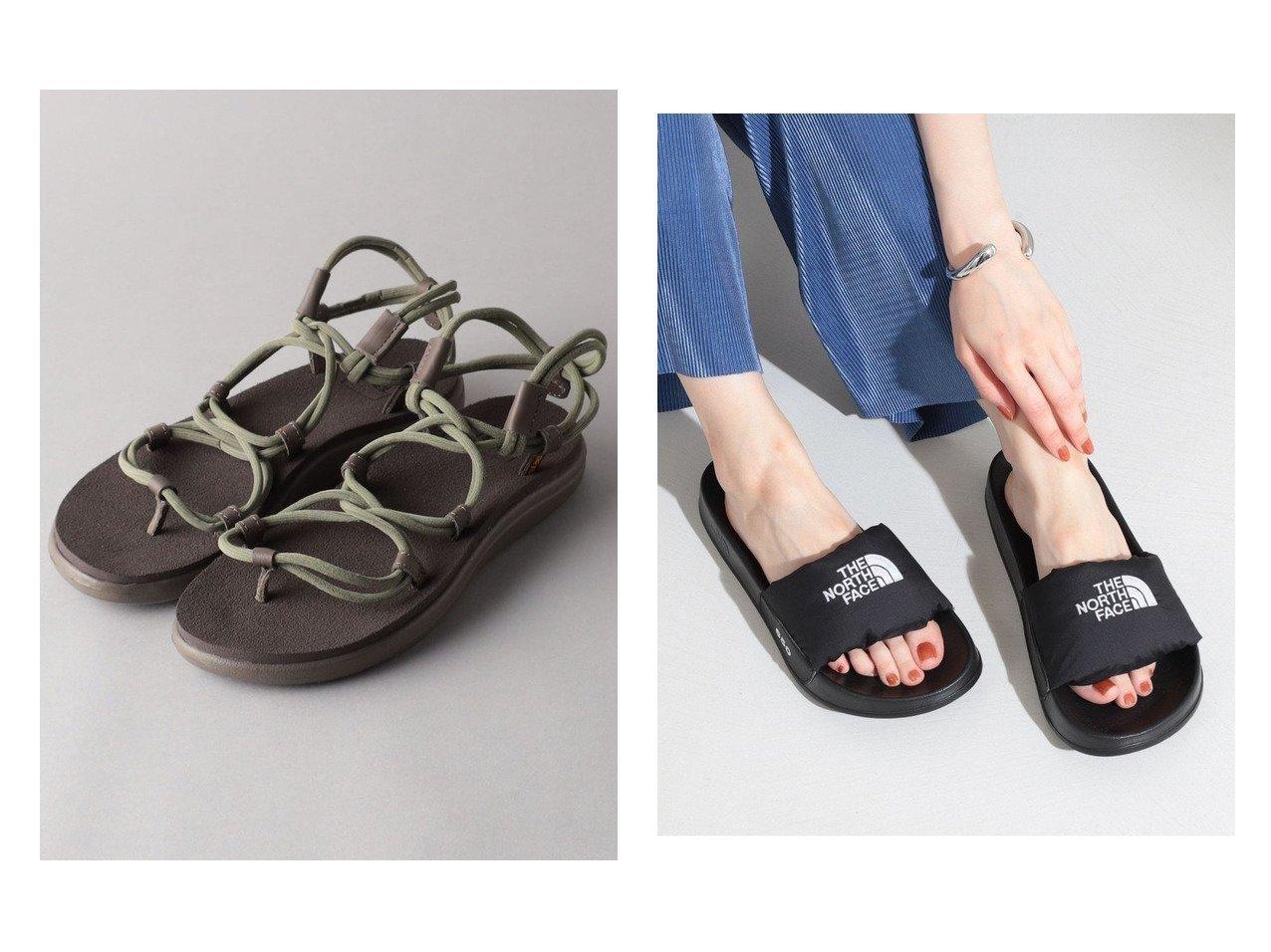 【Odette e Odile/オデット エ オディール】のTEVA VOYA INFINITY SPACE DYE&【Ray BEAMS/レイ ビームス】のNuptse Slide Sandal 2 【シューズ・靴】おすすめ!人気、トレンド・レディースファッションの通販  おすすめで人気の流行・トレンド、ファッションの通販商品 インテリア・家具・メンズファッション・キッズファッション・レディースファッション・服の通販 founy(ファニー) https://founy.com/ ファッション Fashion レディースファッション WOMEN アウトドア サンダル シューズ スポーツ ダウン ボトム ミュール ラップ S/S・春夏 SS・Spring/Summer フィット 人気 夏 Summer 春 Spring |ID:crp329100000062307
