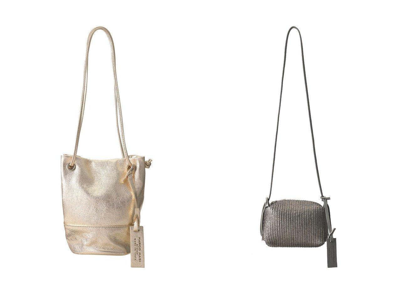 【heliopole/エリオポール】の【MARCO MASI】ミニドロストバッグ&【MARCO MASI】メタリックショルダーバッグ 【バッグ・鞄】おすすめ!人気、トレンド・レディースファッションの通販  おすすめで人気の流行・トレンド、ファッションの通販商品 インテリア・家具・メンズファッション・キッズファッション・レディースファッション・服の通販 founy(ファニー) https://founy.com/ ファッション Fashion レディースファッション WOMEN バッグ Bag イタリア オケージョン クール コンパクト ショルダー シルバー ハンドバッグ ミラノ リュクス トレンド フォルム メタリック  ID:crp329100000062314