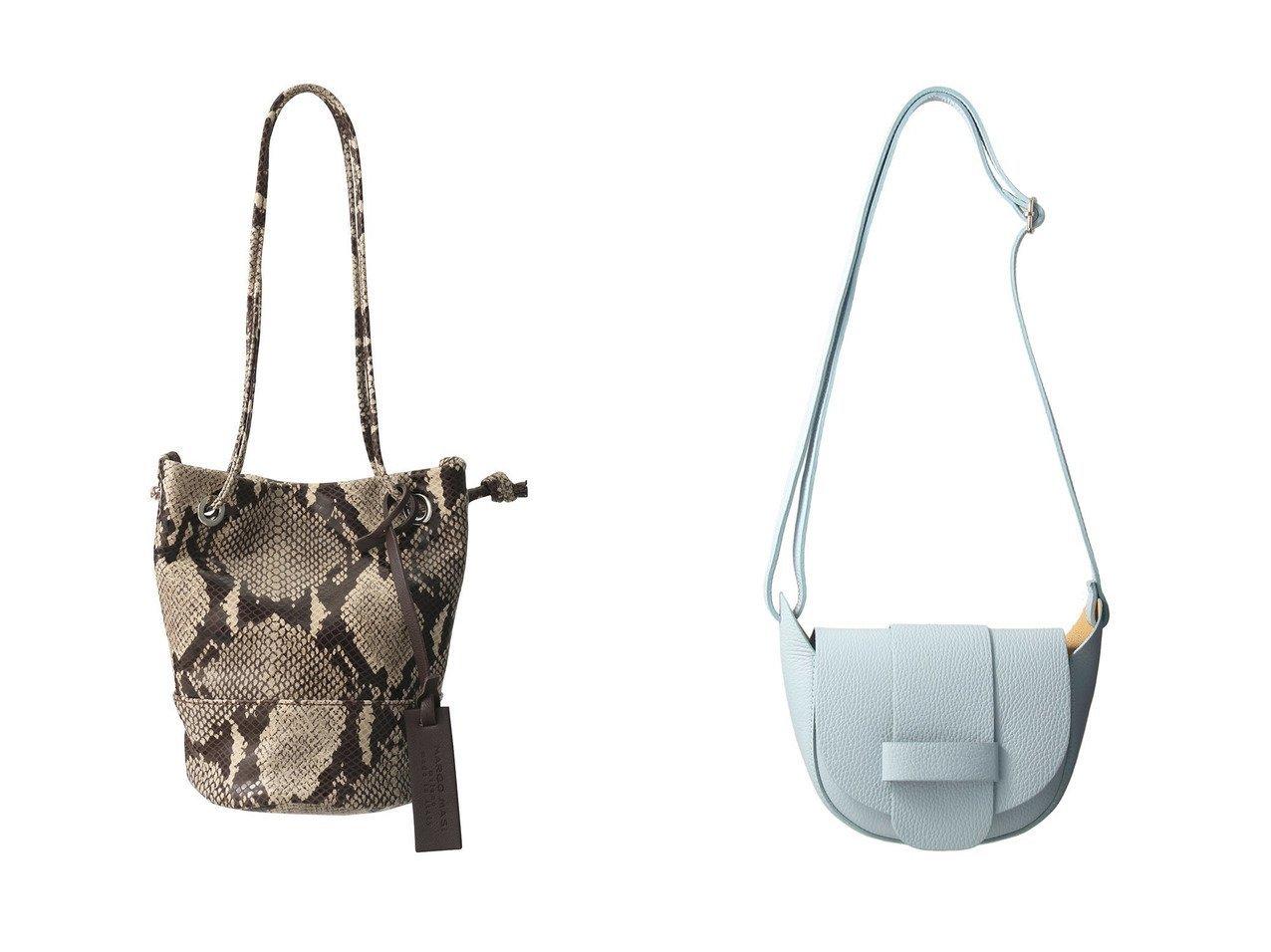 【heliopole/エリオポール】の【MARCO MASI】パイソンミニドロストバッグ&【MILOS】ハーフムーンショルダーバッグ 【バッグ・鞄】おすすめ!人気、トレンド・レディースファッションの通販  おすすめで人気の流行・トレンド、ファッションの通販商品 インテリア・家具・メンズファッション・キッズファッション・レディースファッション・服の通販 founy(ファニー) https://founy.com/ ファッション Fashion レディースファッション WOMEN バッグ Bag イタリア コンパクト ハンドバッグ パイソン ミラノ ラップ オケージョン フェミニン  ID:crp329100000062319