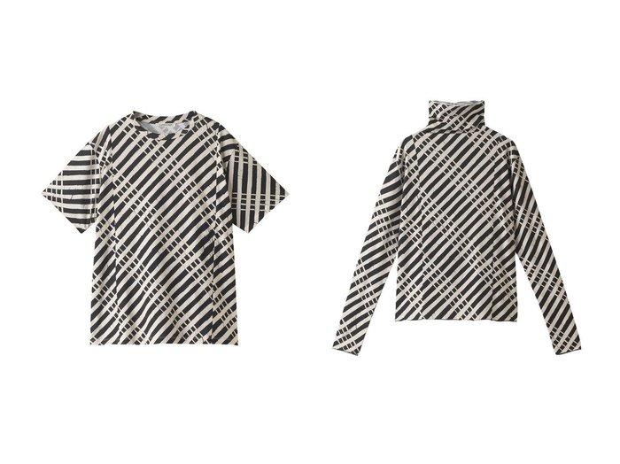 【martinique/マルティニーク】の【CURRENTAGE】プリントTシャツ&【CURRENTAGE】ハイネックプリントTシャツ 【トップス・カットソー】おすすめ!人気、トレンド・レディースファッションの通販  おすすめ人気トレンドファッション通販アイテム 人気、トレンドファッション・服の通販 founy(ファニー) ファッション Fashion レディースファッション WOMEN トップス・カットソー Tops/Tshirt シャツ/ブラウス Shirts/Blouses ロング / Tシャツ T-Shirts カットソー Cut and Sewn 2020年 2020 2020-2021秋冬・A/W AW・Autumn/Winter・FW・Fall-Winter/2020-2021 2021年 2021 2021-2022秋冬・A/W AW・Autumn/Winter・FW・Fall-Winter・2021-2022 A/W・秋冬 AW・Autumn/Winter・FW・Fall-Winter ショート シンプル スリーブ ハイネック プリント ボトム フォルム 定番 Standard |ID:crp329100000062382