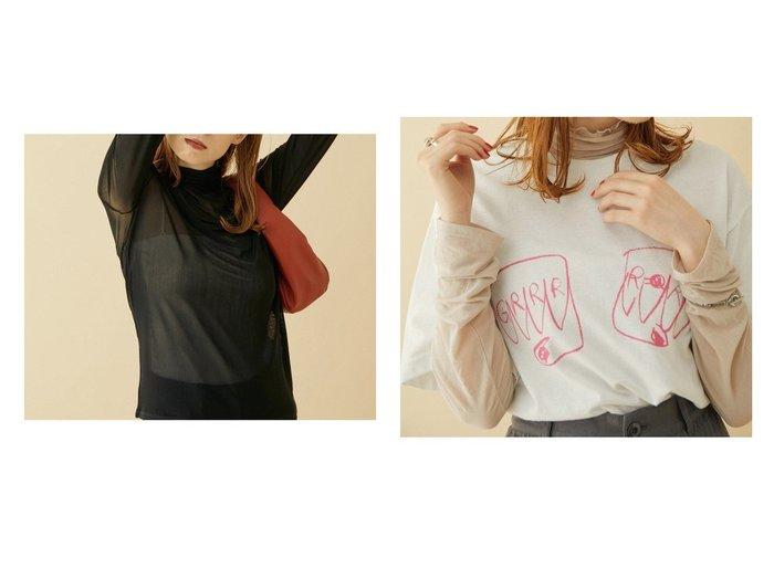 【ROPE' mademoiselle/ロペ マドモアゼル】のシアーロングスリーブTシャツ 【トップス・カットソー】おすすめ!人気、トレンド・レディースファッションの通販  おすすめ人気トレンドファッション通販アイテム インテリア・キッズ・メンズ・レディースファッション・服の通販 founy(ファニー) https://founy.com/ ファッション Fashion レディースファッション WOMEN トップス・カットソー Tops/Tshirt シャツ/ブラウス Shirts/Blouses ロング / Tシャツ T-Shirts カットソー Cut and Sewn 秋 Autumn/Fall カットソー キャミソール クール ジャケット ストレッチ チュール ポケット 冬 Winter おすすめ Recommend 夏 Summer |ID:crp329100000062404