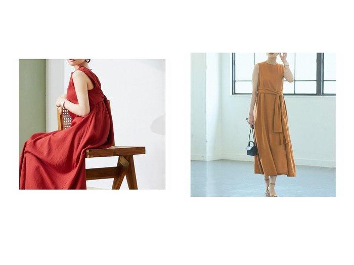 【titivate/ティティベイト】のリネン混2wayリボンマキシワンピース おすすめ!人気、トレンド・レディースファッションの通販 おすすめ人気トレンドファッション通販アイテム 人気、トレンドファッション・服の通販 founy(ファニー)  ファッション Fashion レディースファッション WOMEN ワンピース Dress マキシワンピース Maxi Dress 春 Spring ショート ネップ ペチコート リゾート リネン リボン リラックス 2021年 2021 S/S・春夏 SS・Spring/Summer 2021春夏・S/S SS/Spring/Summer/2021 おすすめ Recommend 夏 Summer |ID:crp329100000062490