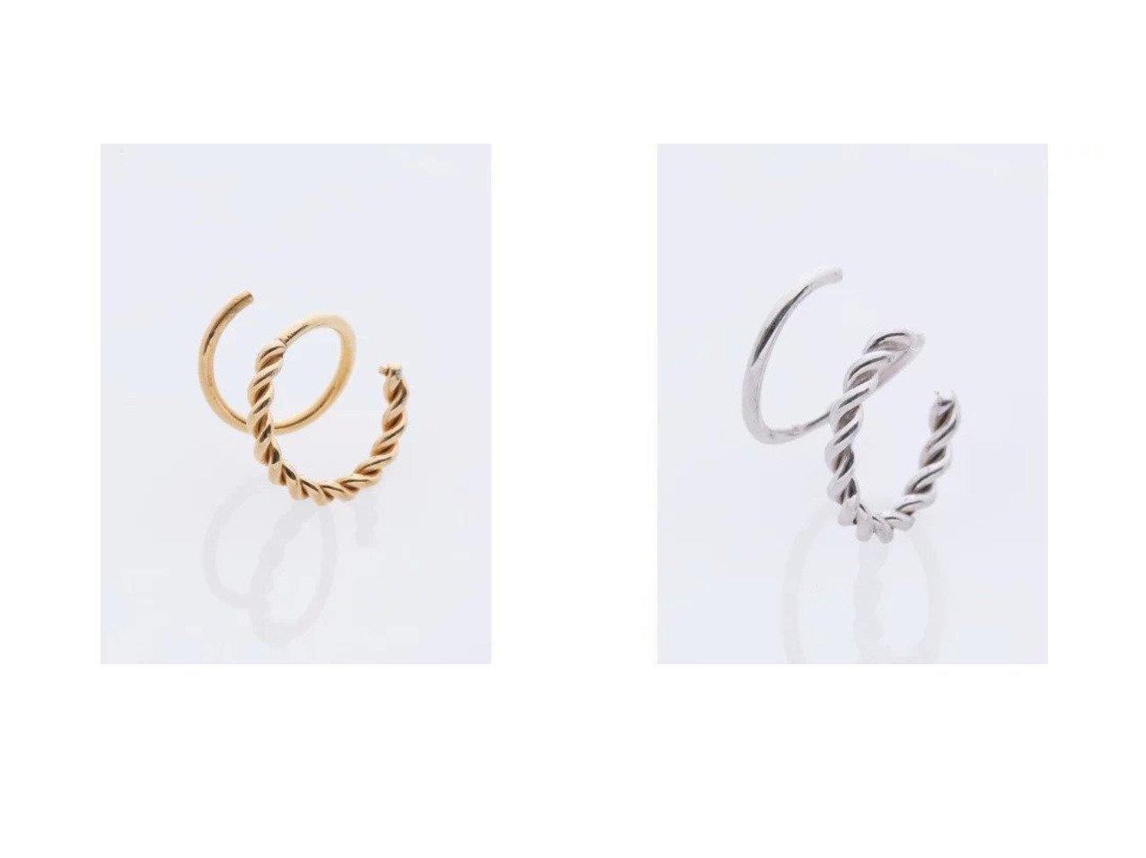 【MARIA BLACK/マリア ブラック】のSofia Twirl Earring&Sofia Twirl Earring おすすめ!人気、トレンド・レディースファッションの通販 おすすめで人気の流行・トレンド、ファッションの通販商品 インテリア・家具・メンズファッション・キッズファッション・レディースファッション・服の通販 founy(ファニー) https://founy.com/ ファッション Fashion レディースファッション WOMEN ジュエリー Jewelry リング Rings イヤリング Earrings アクセサリー フープ  ID:crp329100000062507
