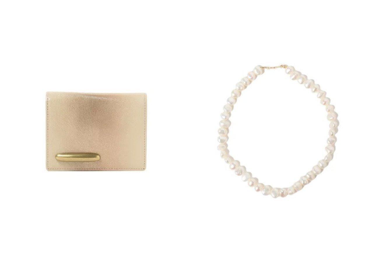 【Demi-Luxe BEAMS/デミルクス ビームス】のDimple.03 パールネックレス&TOFF& メタリックミンク 二折財布 おすすめ!人気、トレンド・レディースファッションの通販 おすすめで人気の流行・トレンド、ファッションの通販商品 インテリア・家具・メンズファッション・キッズファッション・レディースファッション・服の通販 founy(ファニー) https://founy.com/ ファッション Fashion レディースファッション WOMEN ジュエリー Jewelry ネックレス Necklaces 財布 Wallets アクセサリー ショート シンプル スポーツ デコルテ ネックレス パール フォーマル クラシック 財布 バランス ポケット モダン  ID:crp329100000062513