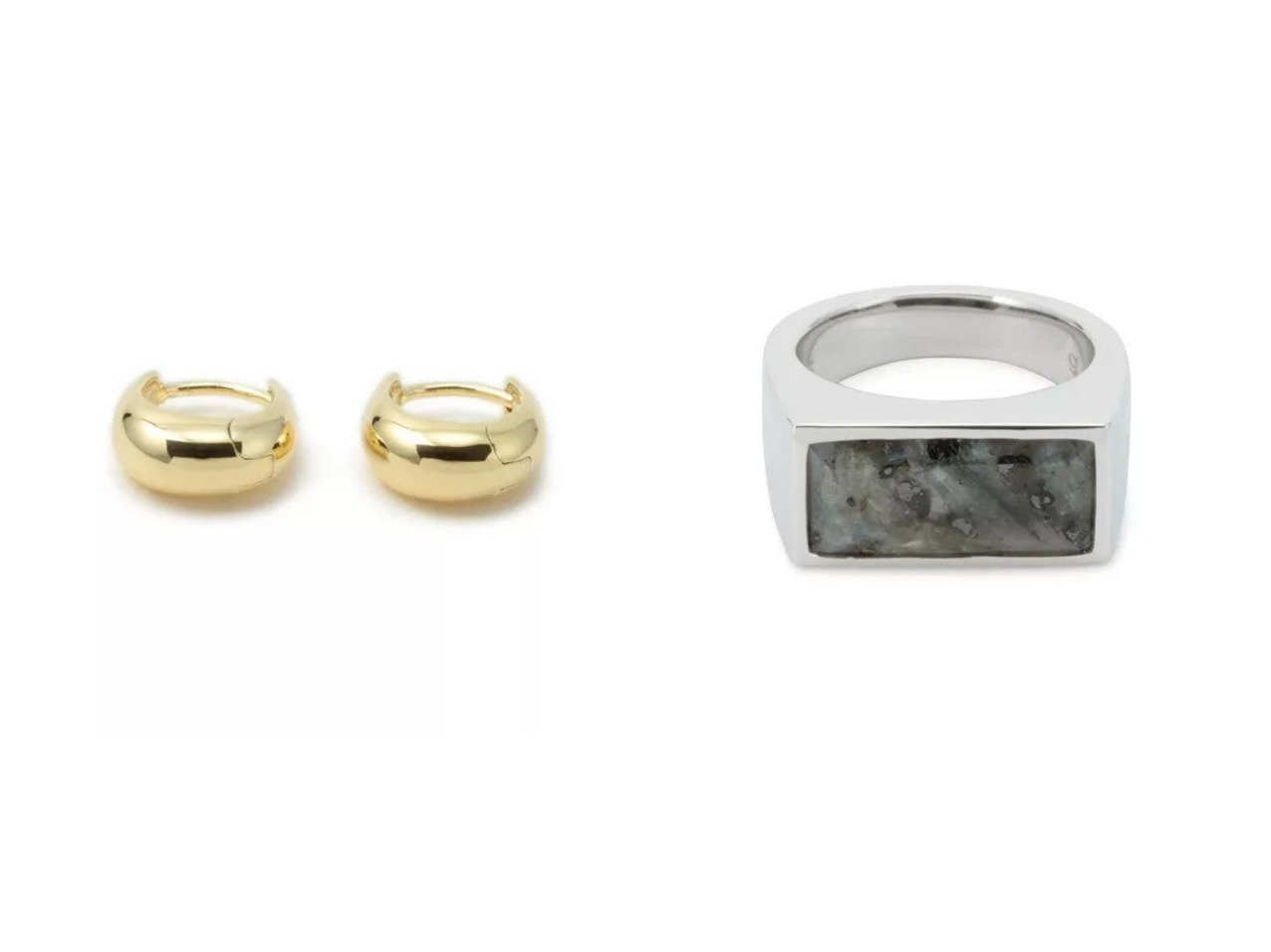 【TOM WOOD/トムウッド】のIce Huggie Gold&Peaky Ring Larvikite おすすめ!人気、トレンド・レディースファッションの通販 おすすめで人気の流行・トレンド、ファッションの通販商品 インテリア・家具・メンズファッション・キッズファッション・レディースファッション・服の通販 founy(ファニー) https://founy.com/ ファッション Fashion レディースファッション WOMEN アクセサリー フォルム 人気 シルバー マーブル モノトーン |ID:crp329100000062517