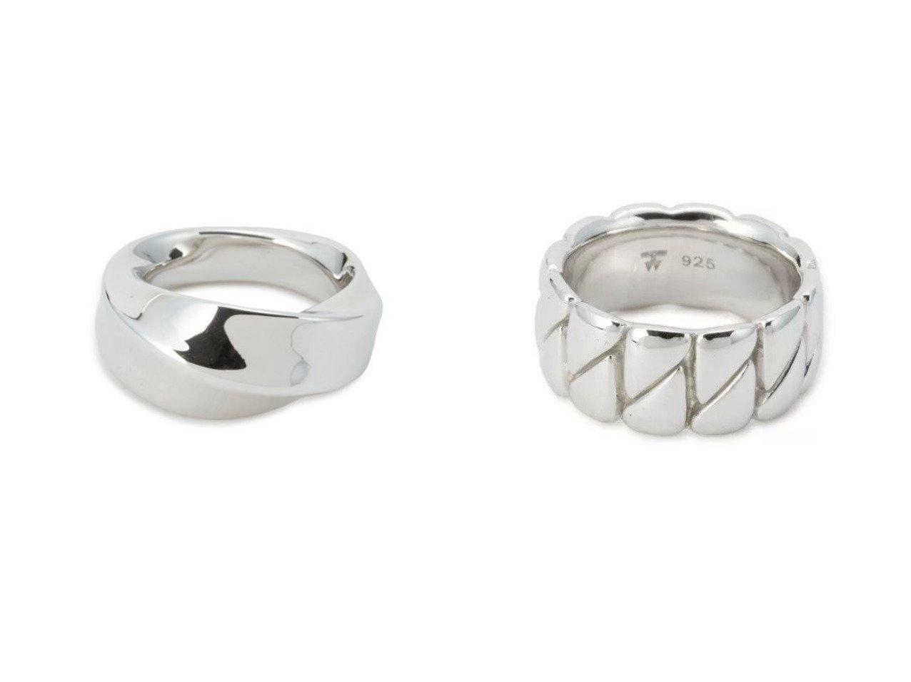 【TOM WOOD/トムウッド】のInfinity Band Large&Drop Ring おすすめ!人気、トレンド・レディースファッションの通販 おすすめで人気の流行・トレンド、ファッションの通販商品 インテリア・家具・メンズファッション・キッズファッション・レディースファッション・服の通販 founy(ファニー) https://founy.com/ ファッション Fashion レディースファッション WOMEN アクセサリー シンプル フォルム モチーフ シルバー ドロップ マニッシュ |ID:crp329100000062520