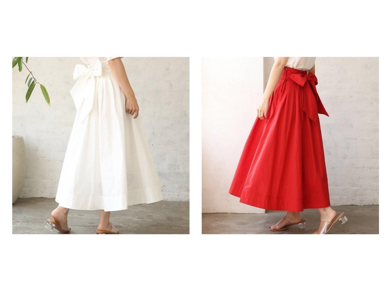 【NICE CLAUP/ナイスクラップ】の美シルエットリボンスカート おすすめ!人気、トレンド・レディースファッションの通販 おすすめで人気の流行・トレンド、ファッションの通販商品 インテリア・家具・メンズファッション・キッズファッション・レディースファッション・服の通販 founy(ファニー) https://founy.com/ ファッション Fashion レディースファッション WOMEN スカート Skirt ミニスカート Mini Skirts コンパクト 今季 セットアップ フェミニン フレア ミニスカート リボン 2021年 2021 2021春夏・S/S SS/Spring/Summer/2021 おすすめ Recommend 夏 Summer |ID:crp329100000062531
