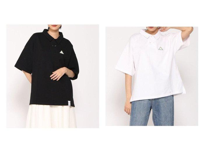 【FRAPBOIS/フラボア】のPARK ポロシャツ おすすめ!人気、トレンド・レディースファッションの通販 おすすめ人気トレンドファッション通販アイテム インテリア・キッズ・メンズ・レディースファッション・服の通販 founy(ファニー) https://founy.com/ ファッション Fashion レディースファッション WOMEN トップス・カットソー Tops/Tshirt シャツ/ブラウス Shirts/Blouses ポロシャツ Polo Shirts カットソー Cut and Sewn カットソー ショルダー シンプル スリット ドロップ フロント プリント ポロシャツ モチーフ リラックス ルーズ  ID:crp329100000062565