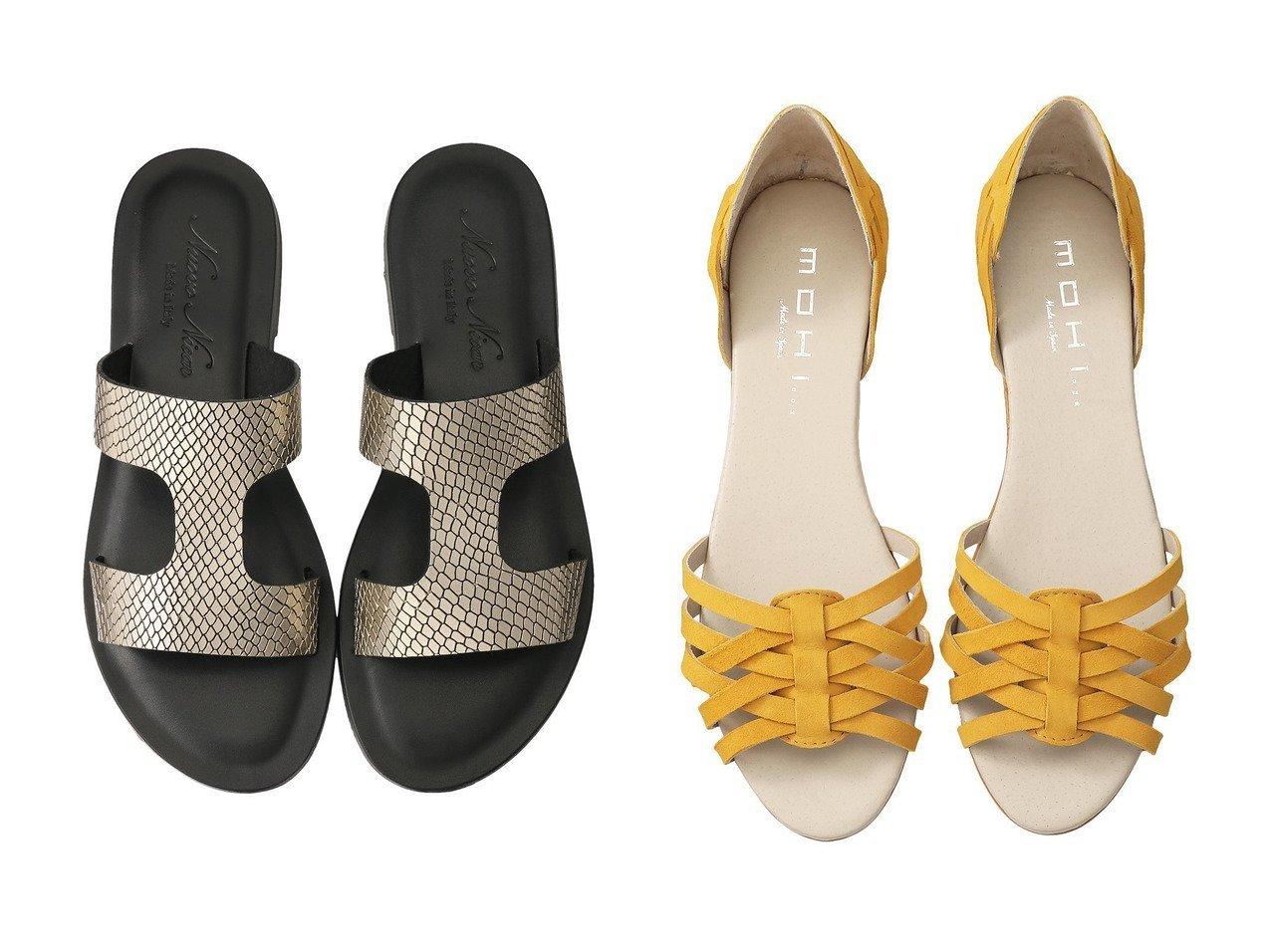 【heliopole/エリオポール】の【MOHI】スエードメッシュサンダル&【1er Arrondissement/プルミエ アロンディスモン】の【Nuovo Nicar】フラットサンダル 【シューズ・靴】おすすめ!人気、トレンド・レディースファッションの通販 おすすめで人気の流行・トレンド、ファッションの通販商品 インテリア・家具・メンズファッション・キッズファッション・レディースファッション・服の通販 founy(ファニー) https://founy.com/ ファッション Fashion レディースファッション WOMEN おすすめ Recommend なめらか ガーリー サンダル スポーティ ソックス フラット マニッシュ S/S・春夏 SS・Spring/Summer シューズ ジュート スエード スマート フェミニン フォルム メッシュ 夏 Summer 春 Spring  ID:crp329100000062638
