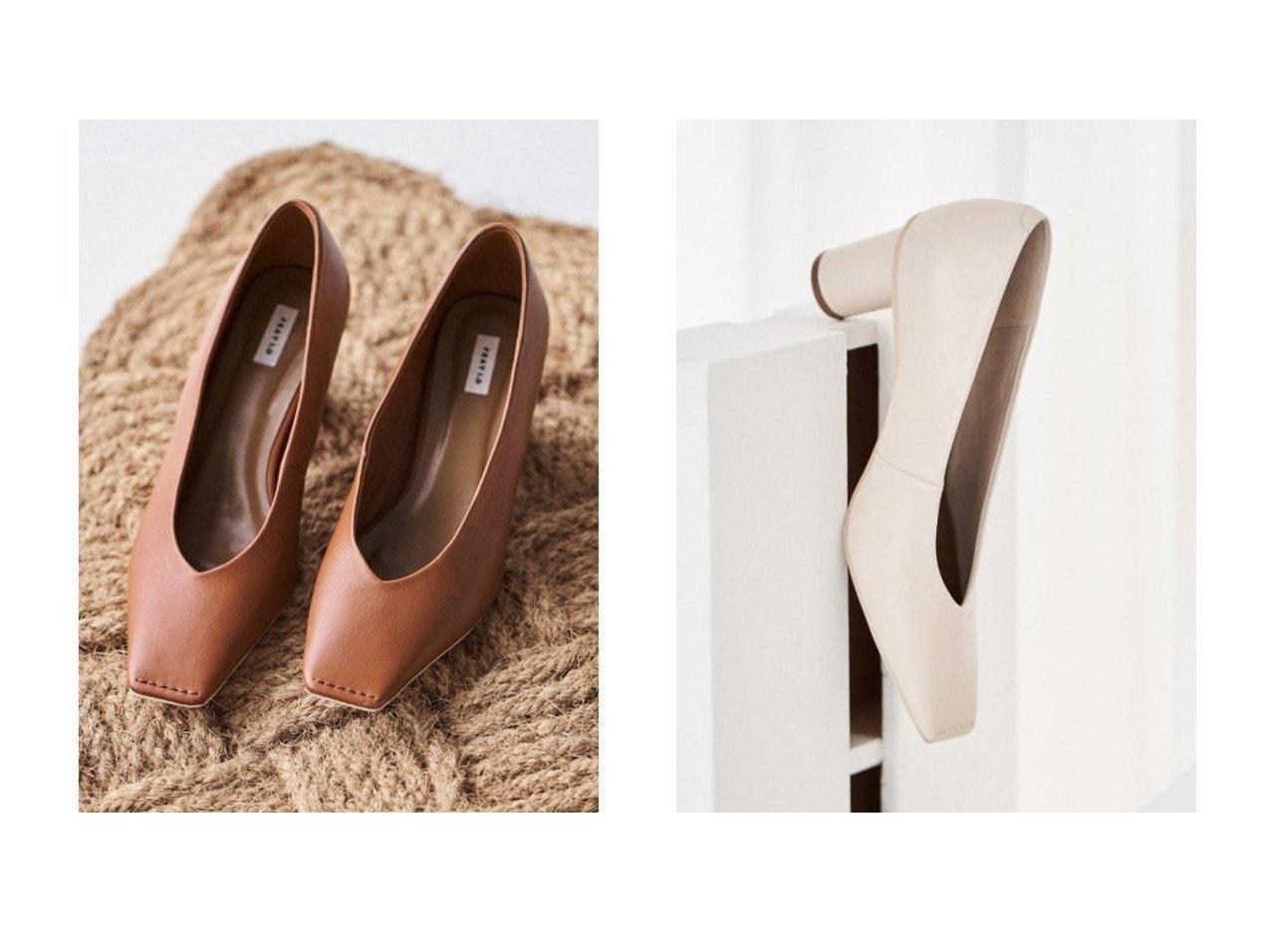 【FRAY I.D/フレイ アイディー】のスクエアトゥVカットパンプス 【シューズ・靴】おすすめ!人気、トレンド・レディースファッションの通販 おすすめで人気の流行・トレンド、ファッションの通販商品 インテリア・家具・メンズファッション・キッズファッション・レディースファッション・服の通販 founy(ファニー) https://founy.com/ ファッション Fashion レディースファッション WOMEN インソール クッション シューズ スマート スリム 再入荷 Restock/Back in Stock/Re Arrival  ID:crp329100000062640