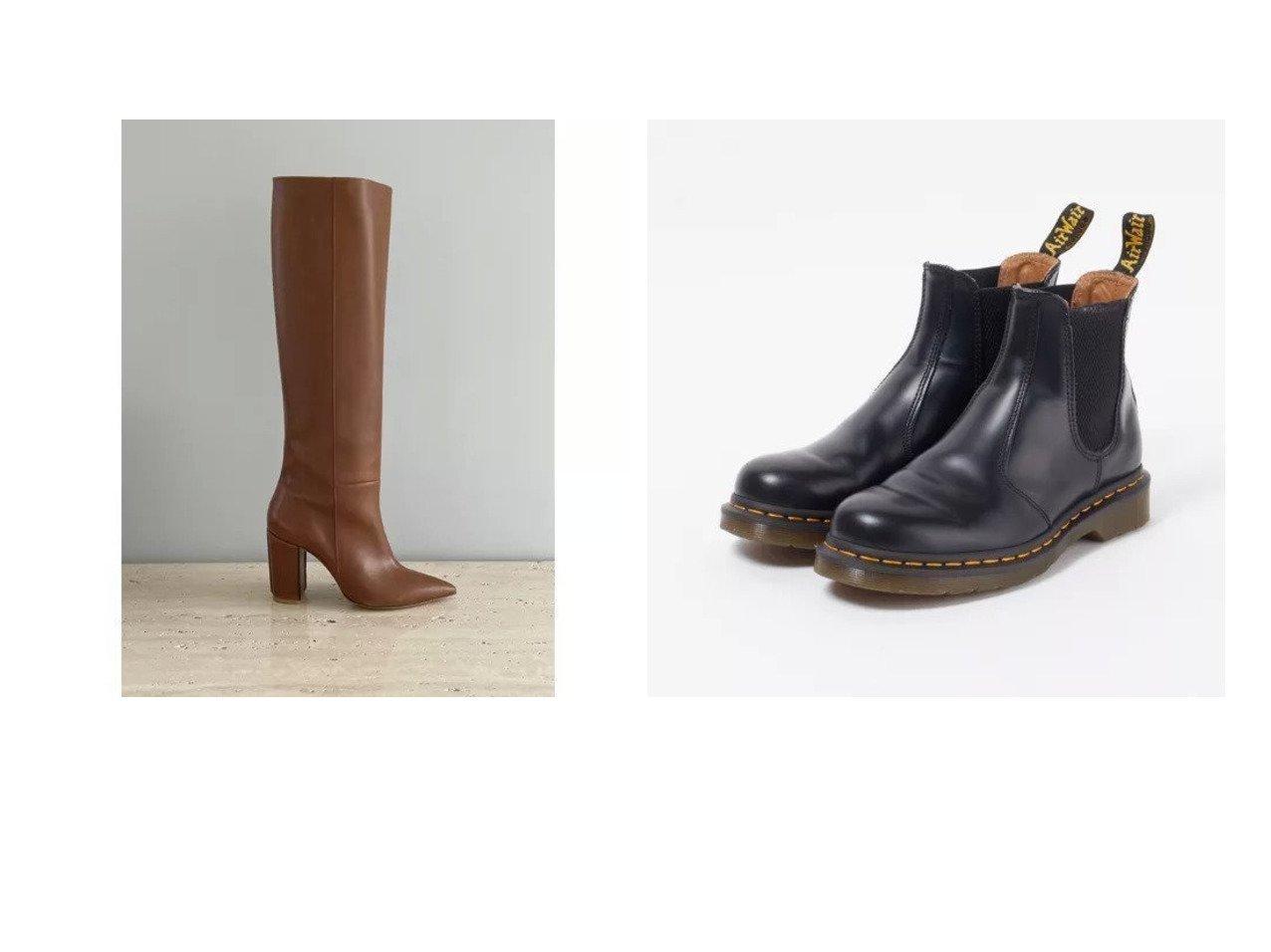【Pippichic/ピッピシック】のロングブーツ&【Dr.Martens/ドクターマーチン】の2976 YS チェルシーブーツ 【シューズ・靴】おすすめ!人気、トレンド・レディースファッションの通販 おすすめで人気の流行・トレンド、ファッションの通販商品 インテリア・家具・メンズファッション・キッズファッション・レディースファッション・服の通販 founy(ファニー) https://founy.com/ ファッション Fashion レディースファッション WOMEN シューズ ロング ショート 厚底  ID:crp329100000062641