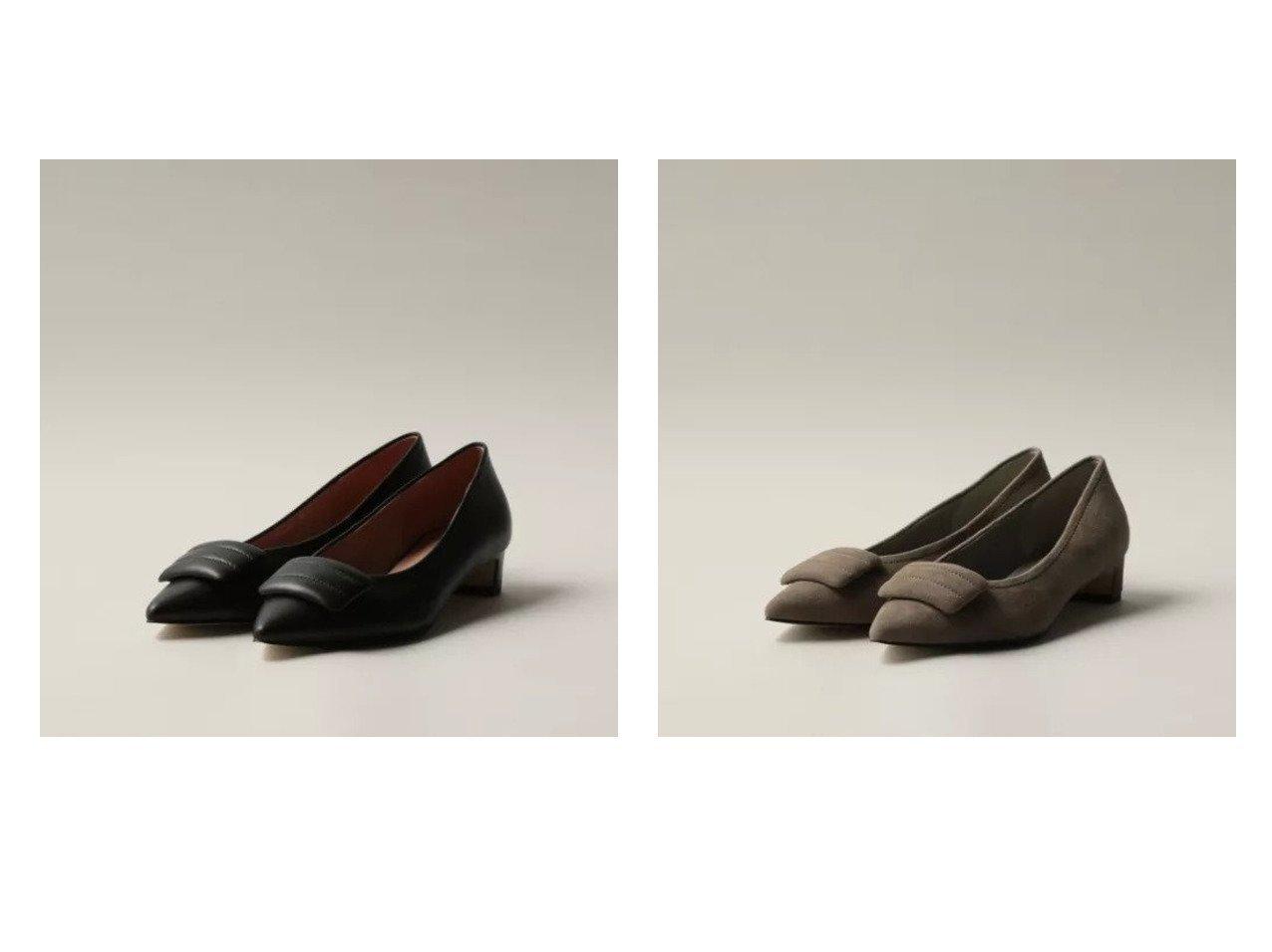 【Odette e Odile/オデット エ オディール】のパデットモチーフ パンプス30↓↑ 【シューズ・靴】おすすめ!人気、トレンド・レディースファッションの通販 おすすめで人気の流行・トレンド、ファッションの通販商品 インテリア・家具・メンズファッション・キッズファッション・レディースファッション・服の通販 founy(ファニー) https://founy.com/ ファッション Fashion レディースファッション WOMEN シューズ スクエア トレンド モチーフ  ID:crp329100000062644