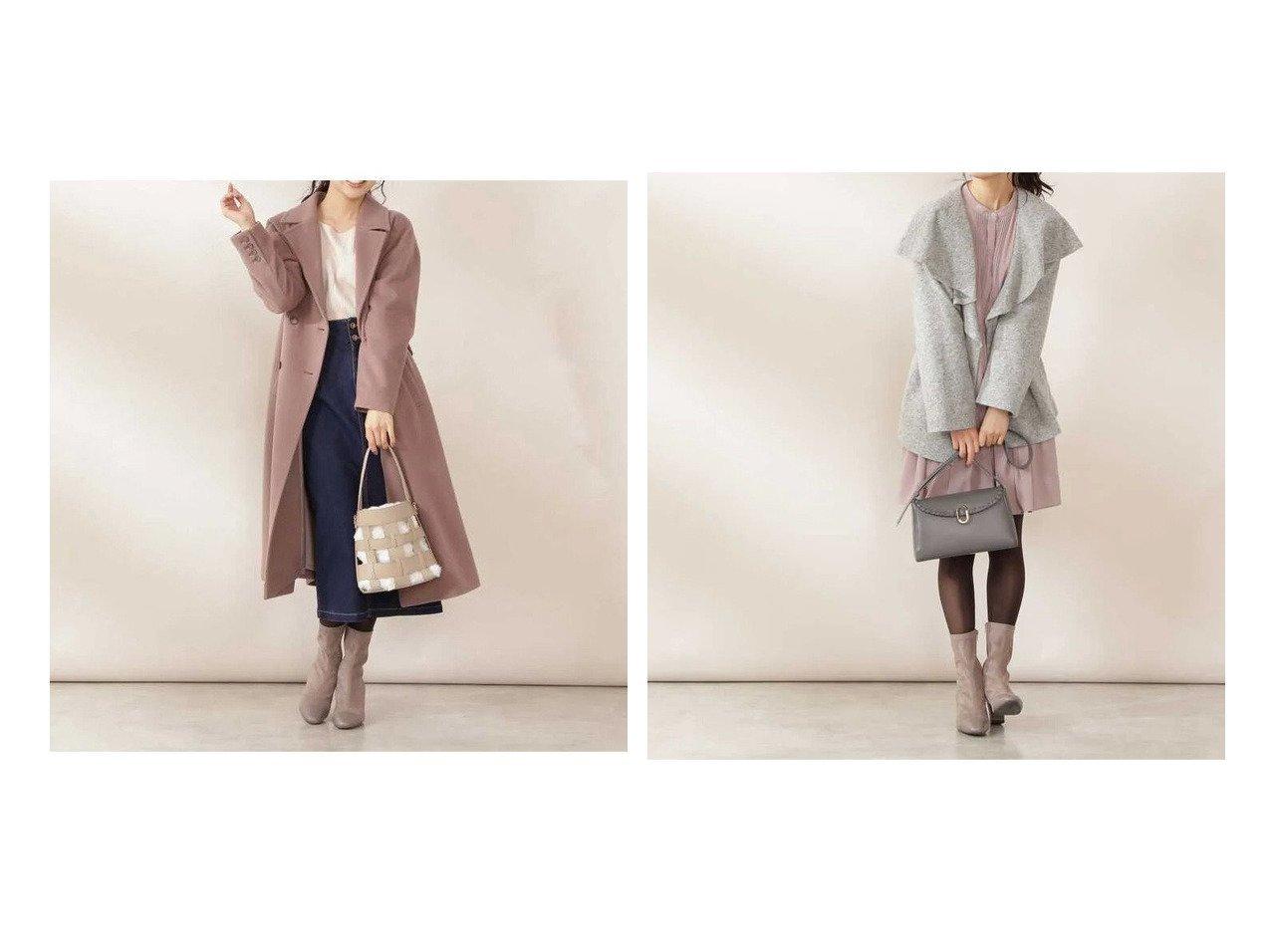 【PROPORTION BODY DRESSING/プロポーション ボディドレッシング】のビッグカラーチェスターコート&ビッグラペルショートコート 【アウター】おすすめ!人気、トレンド・レディースファッションの通販 おすすめで人気の流行・トレンド、ファッションの通販商品 インテリア・家具・メンズファッション・キッズファッション・レディースファッション・服の通販 founy(ファニー) https://founy.com/ ファッション Fashion レディースファッション WOMEN アウター Coat Outerwear コート Coats チェスターコート Top Coat ショルダー チェスターコート ドロップ フロント ポケット ロング 人気 ショート ドレープ ビッグ |ID:crp329100000062663