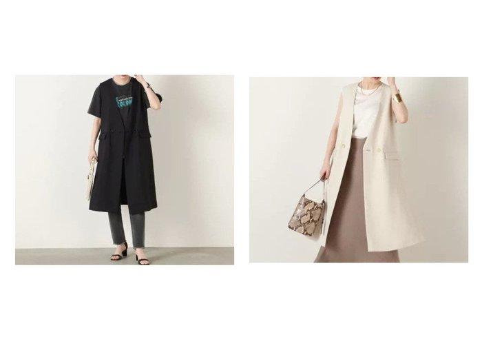 【NOLLEY'S/ノーリーズ】のドライタスランスリットジレ 【アウター】おすすめ!人気、トレンド・レディースファッションの通販 おすすめ人気トレンドファッション通販アイテム 人気、トレンドファッション・服の通販 founy(ファニー) ファッション Fashion レディースファッション WOMEN アウター Coat Outerwear コート Coats 2021年 2021 2021-2022秋冬・A/W AW・Autumn/Winter・FW・Fall-Winter・2021-2022 A/W・秋冬 AW・Autumn/Winter・FW・Fall-Winter インナー シンプル スリット 冬 Winter |ID:crp329100000062672