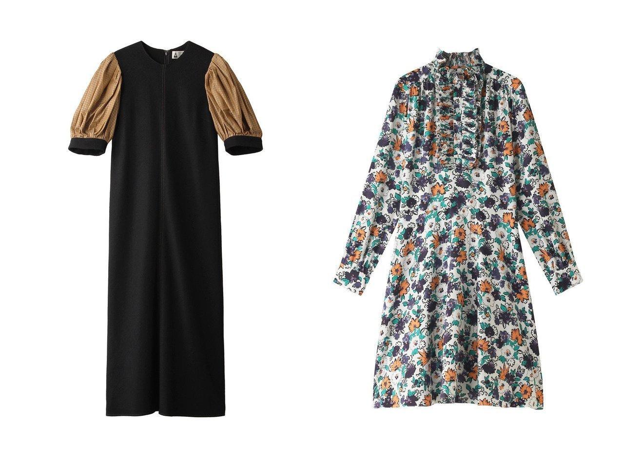 【Plan C/プラン C】のフラワープリントドレス&【leur logette/ルール ロジェット】のパフスリーブドレス 【ワンピース・ドレス】おすすめ!人気、トレンド・レディースファッションの通販 おすすめで人気の流行・トレンド、ファッションの通販商品 インテリア・家具・メンズファッション・キッズファッション・レディースファッション・服の通販 founy(ファニー) https://founy.com/ ファッション Fashion レディースファッション WOMEN ワンピース Dress ドレス Party Dresses チュニック Tunic 2020年 2020 2020-2021秋冬・A/W AW・Autumn/Winter・FW・Fall-Winter/2020-2021 2021年 2021 2021-2022秋冬・A/W AW・Autumn/Winter・FW・Fall-Winter・2021-2022 A/W・秋冬 AW・Autumn/Winter・FW・Fall-Winter シルク シンプル スリーブ チュニック ドレス バランス パーティ フラワー フリル プリント |ID:crp329100000062678