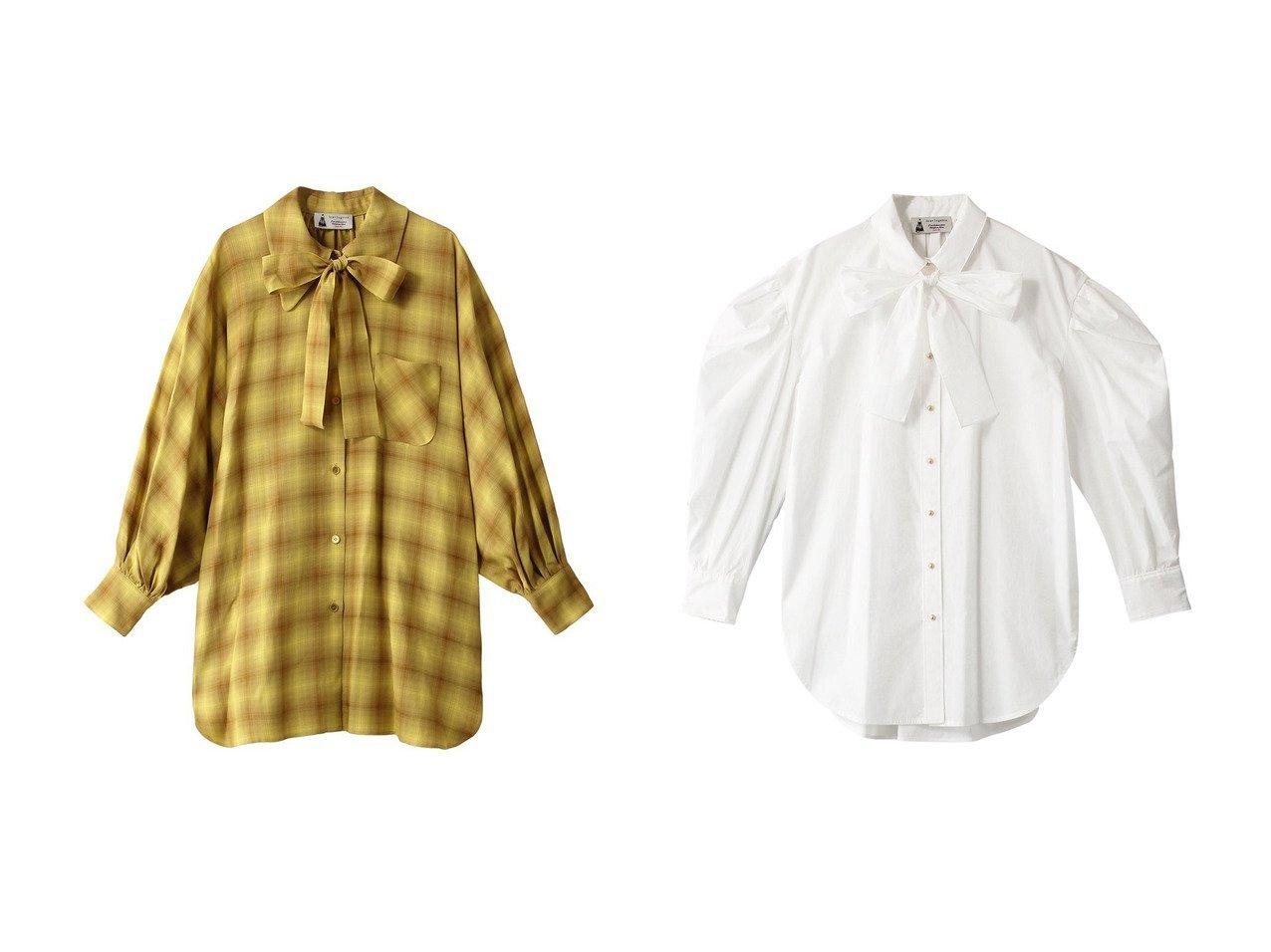 【leur logette/ルール ロジェット】のオンブレチェックボウタイロングシャツ&ボウタイブラウス 【トップス・カットソー】おすすめ!人気、トレンド・レディースファッションの通販 おすすめで人気の流行・トレンド、ファッションの通販商品 インテリア・家具・メンズファッション・キッズファッション・レディースファッション・服の通販 founy(ファニー) https://founy.com/ ファッション Fashion レディースファッション WOMEN トップス・カットソー Tops/Tshirt シャツ/ブラウス Shirts/Blouses 2020年 2020 2020-2021秋冬・A/W AW・Autumn/Winter・FW・Fall-Winter/2020-2021 2021年 2021 2021-2022秋冬・A/W AW・Autumn/Winter・FW・Fall-Winter・2021-2022 A/W・秋冬 AW・Autumn/Winter・FW・Fall-Winter グラデーション スリーブ チェック ボウタイ ラグジュアリー ロング |ID:crp329100000062699